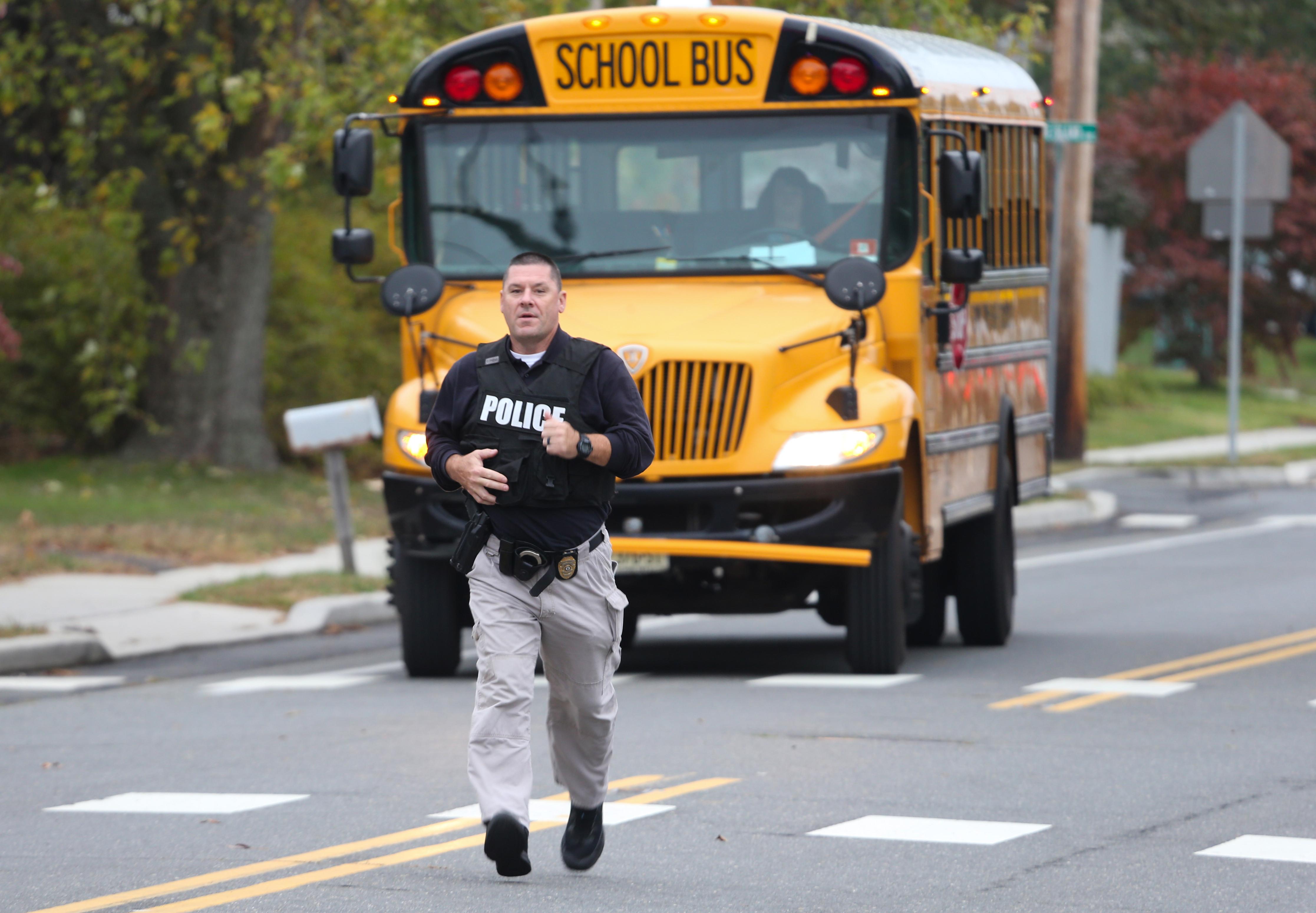 16-year-old shot near his N.J. high school ran back inside seeking help, prompting lockdown