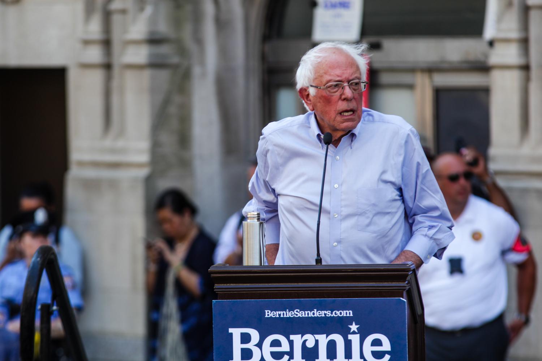 Philadelphia hospital plight spurs Bernie Sanders rally, pledge on aid