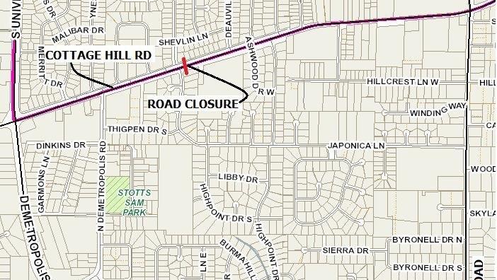 Mobile: Cottage Hill Road closure to last 3-4 weeks - al.com on