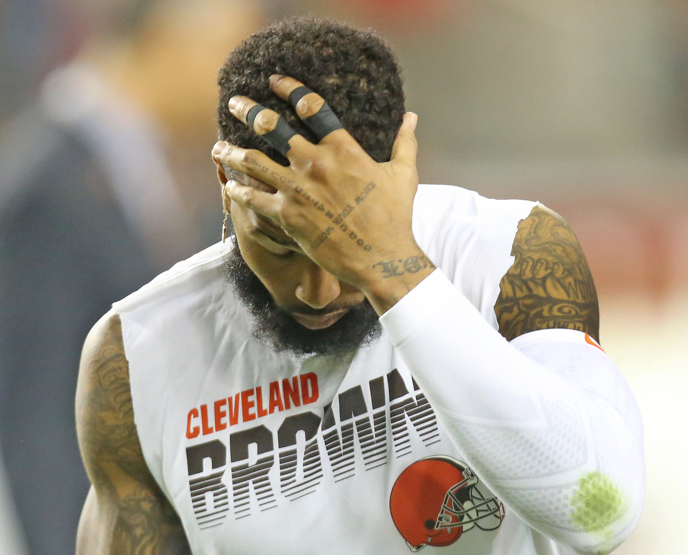 Ex-Giants WR Odell Beckham calls for bigger role as Browns, Baker Mayfield struggle | 'Put it on me and see what happens'