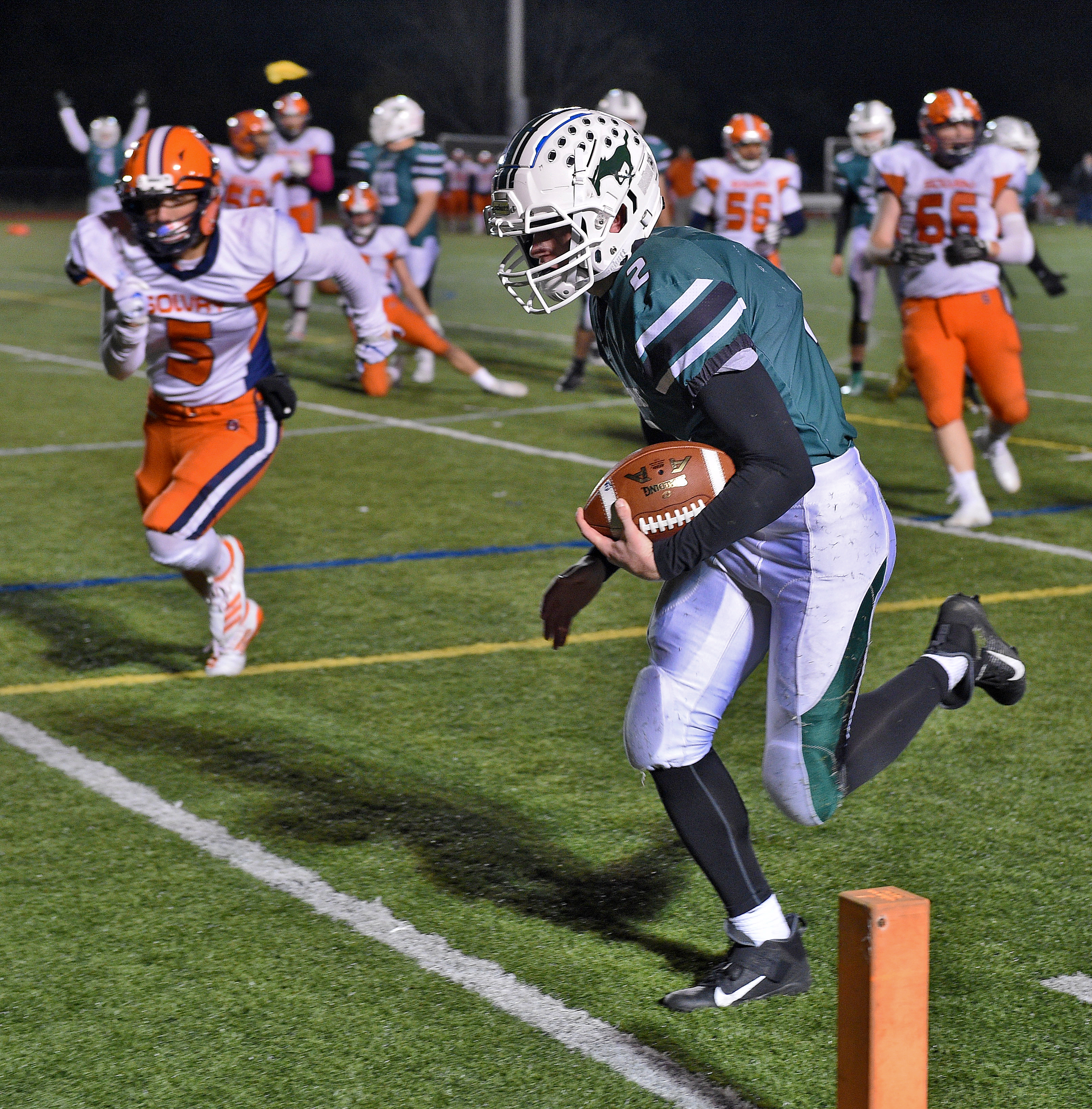 Sean Tierney's late TD gives Marcellus win