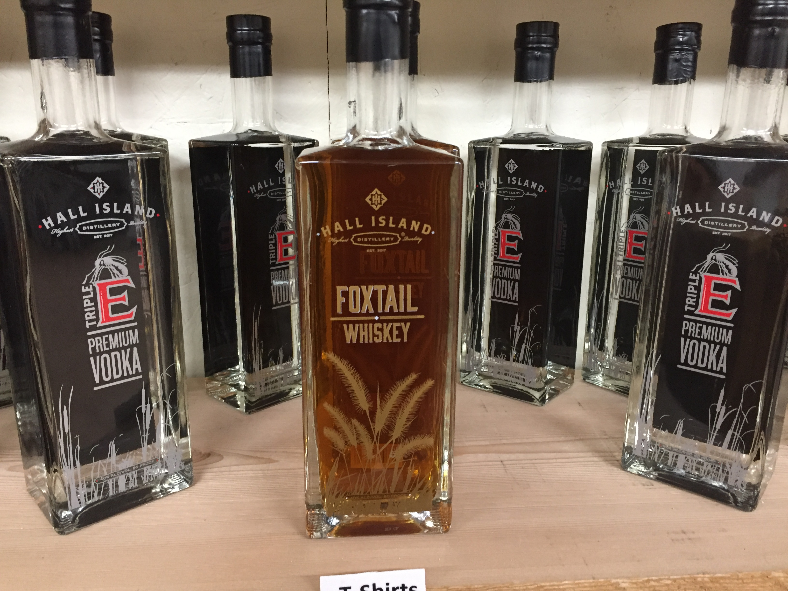 Hall Island Distillery: Whiskey and vodka from the heart of a CNY swamp