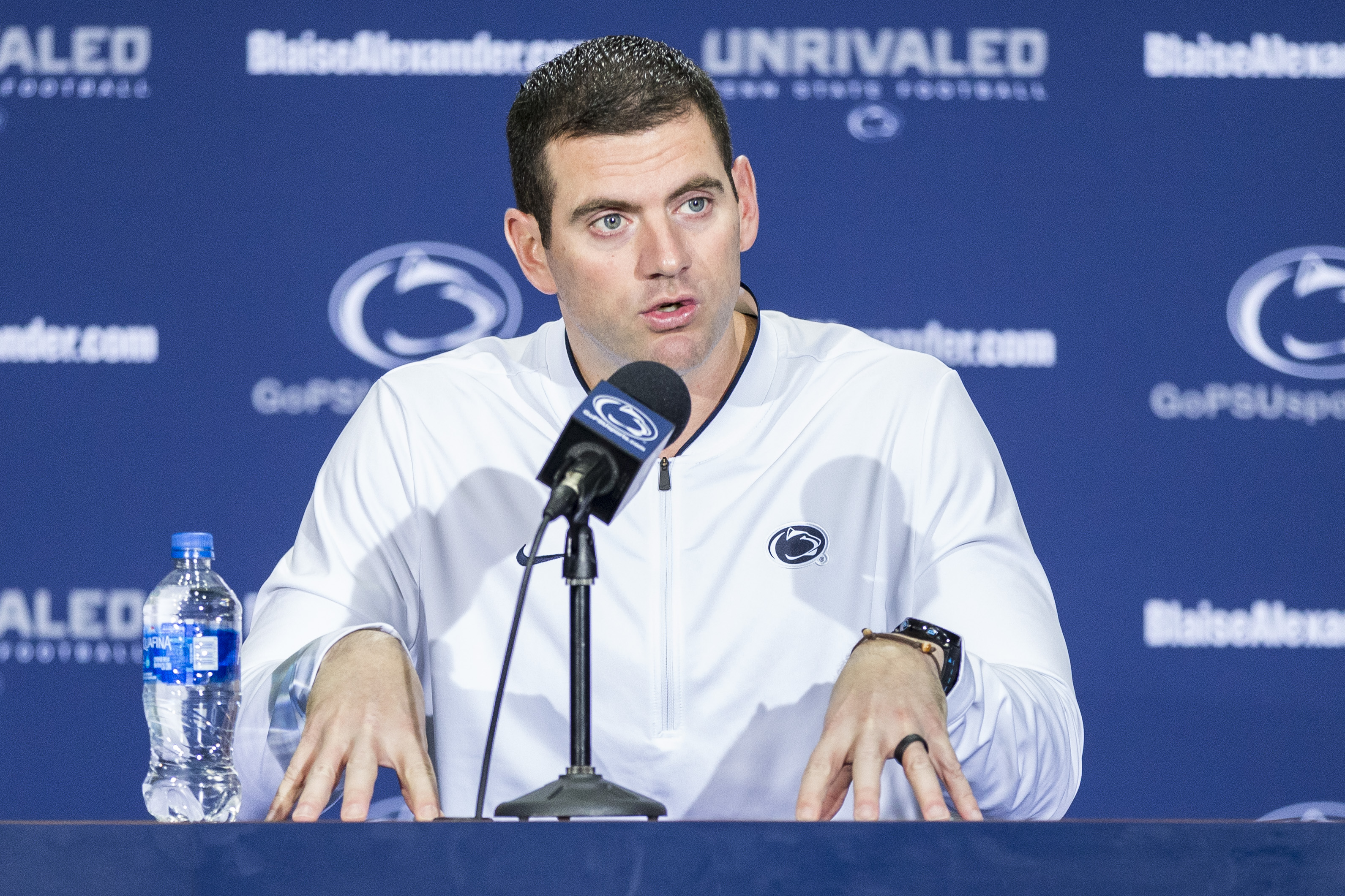 Penn State receivers coach pleads guilty to driving while intoxicated in 2017