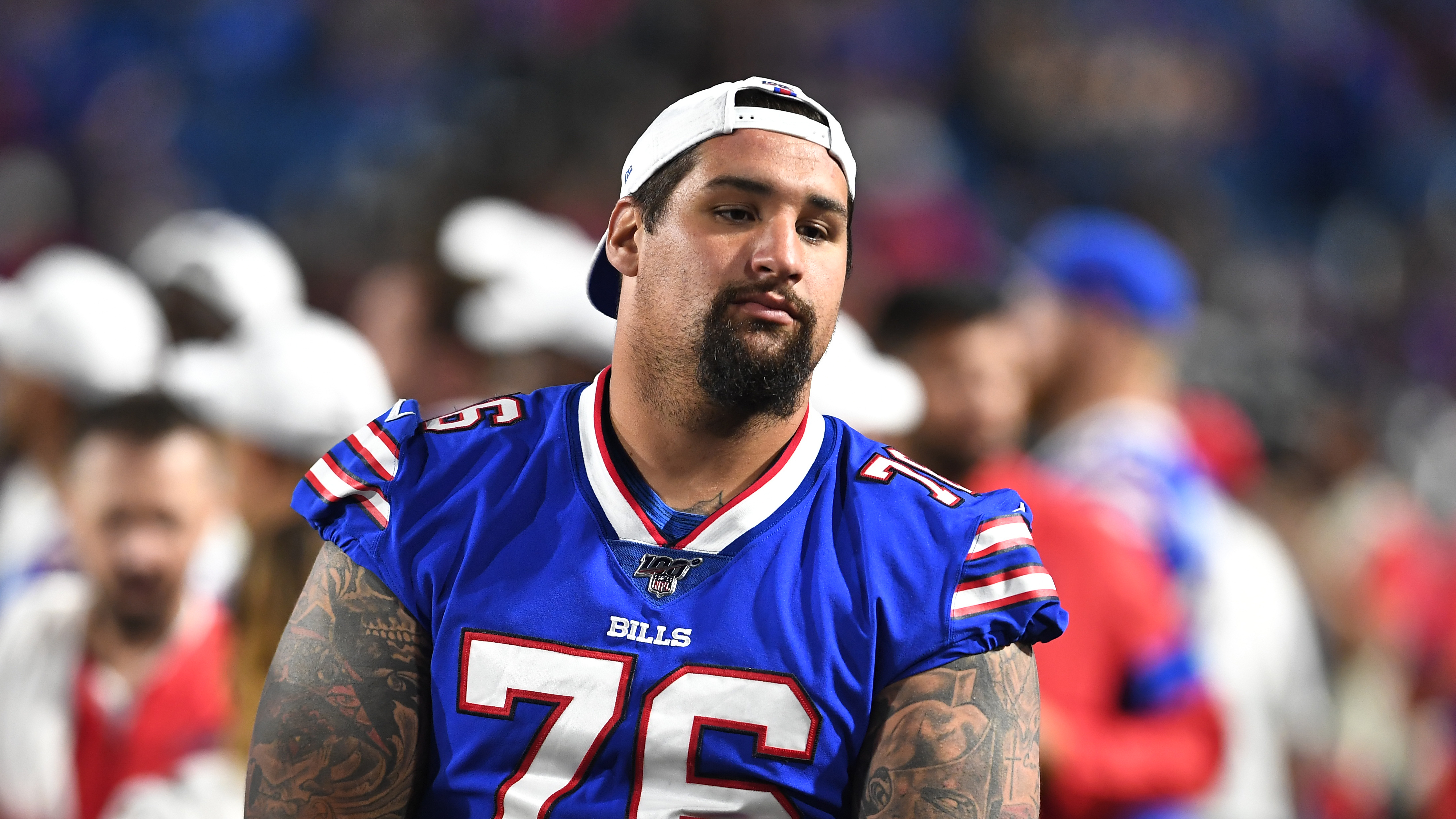 Jon Feliciano brings 'controlled chaos' to Buffalo Bills o-line: 'He plays with a mean streak and swagger'