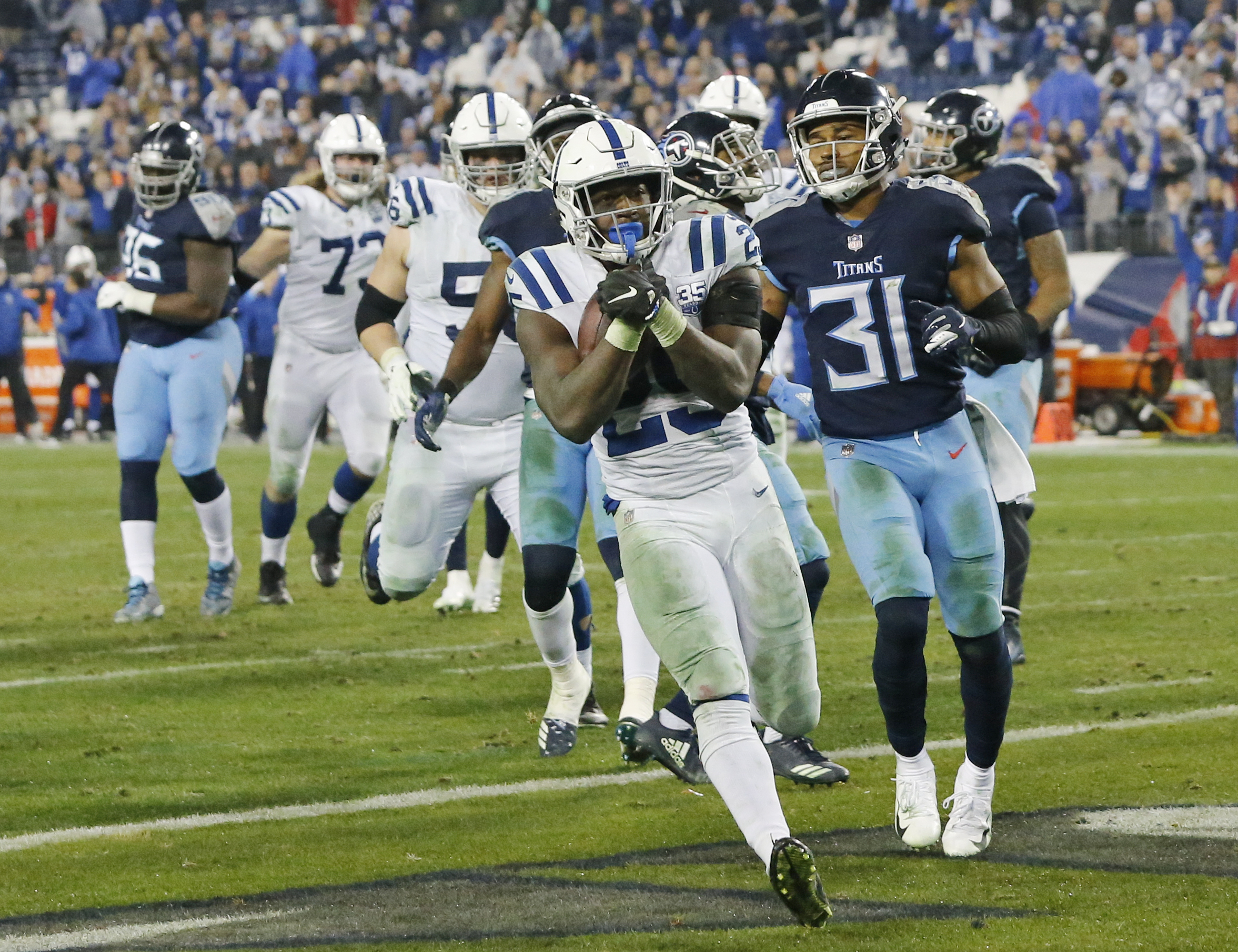 Indianapolis Colts Earn Playoff Berth After Defeating The