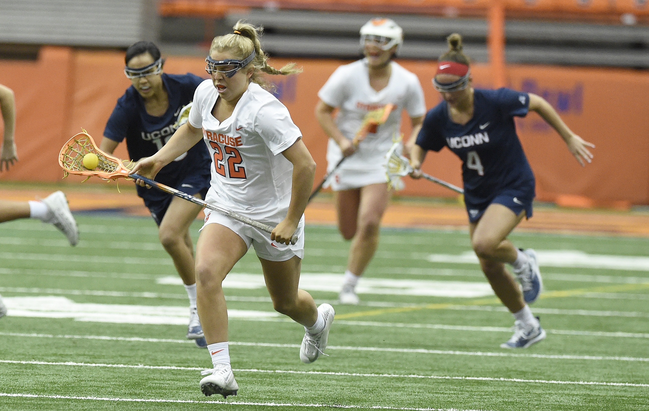 4 Syracuse women's lacrosse players earn All-American nods