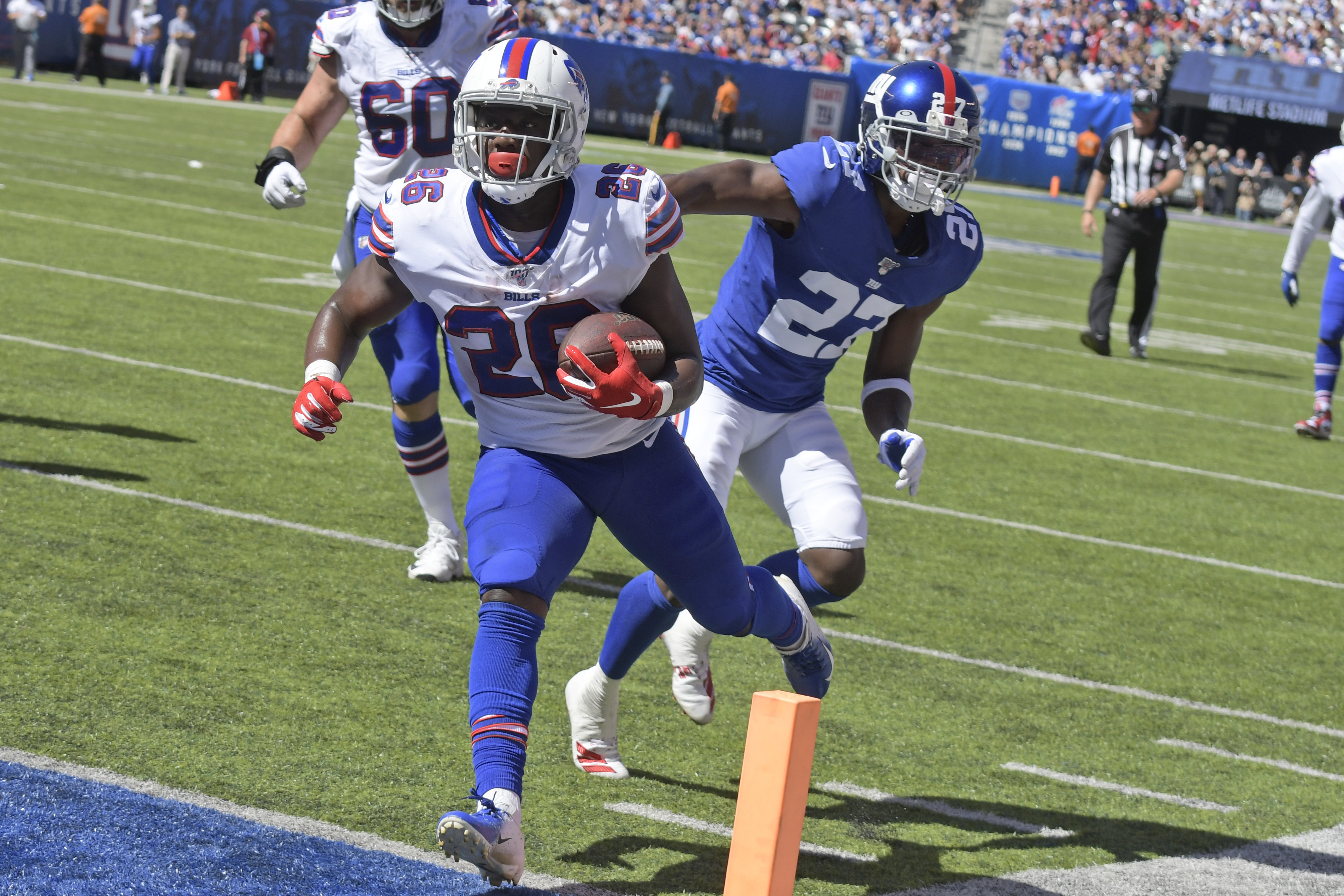 Buffalo Bills may hold RB Devin Singletary out of Titans game as a precaution