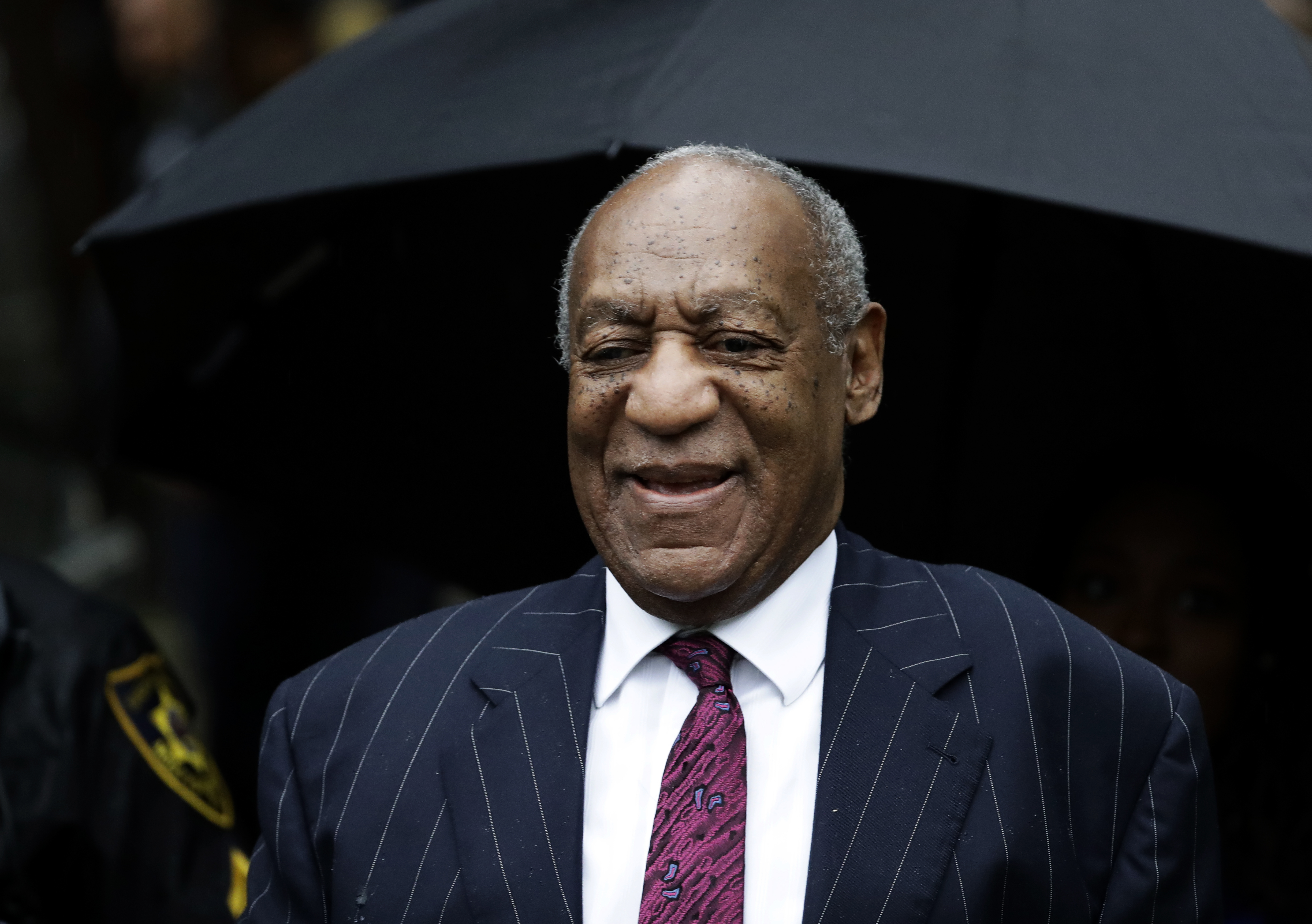 Bill Cosby arrives for his sentencing hearing at the Montgomery County Courthouse, Tuesday, Sept. 25, 2018, in Norristown, Pa. (AP Photo/Matt Slocum) AP