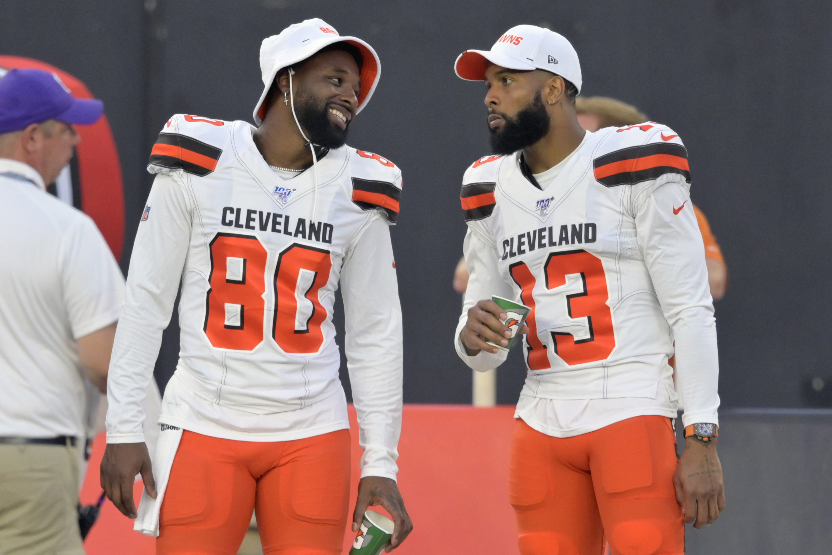 NFL rumors: Browns' Odell Beckham, Jarvis Landry create more drama with  latest denials - nj.com