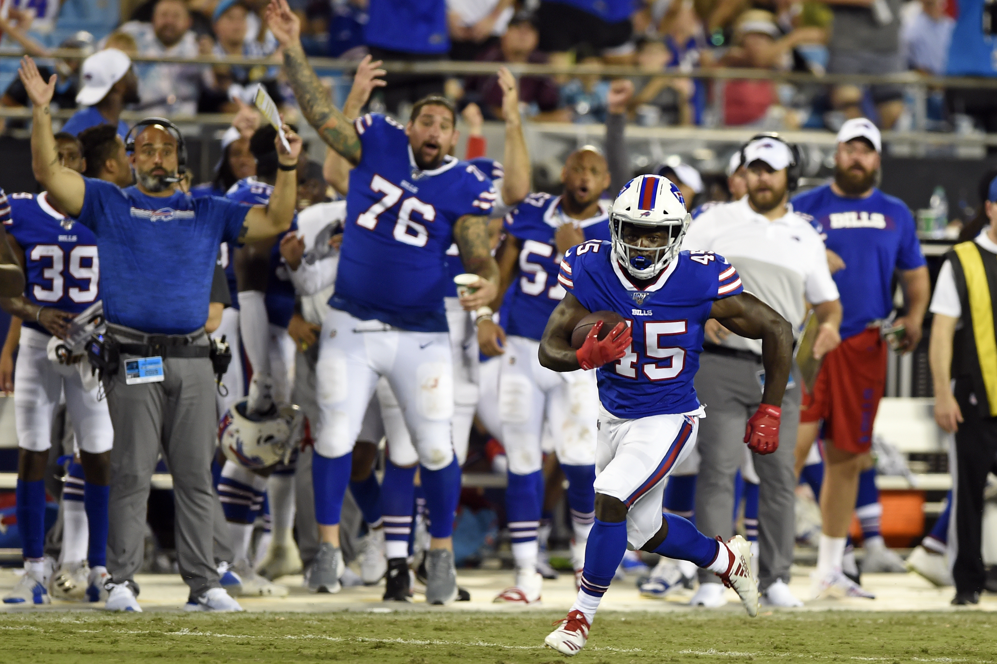 Buffalo Bills' Christian Wade and the International Pathway Program: What fans needs to know
