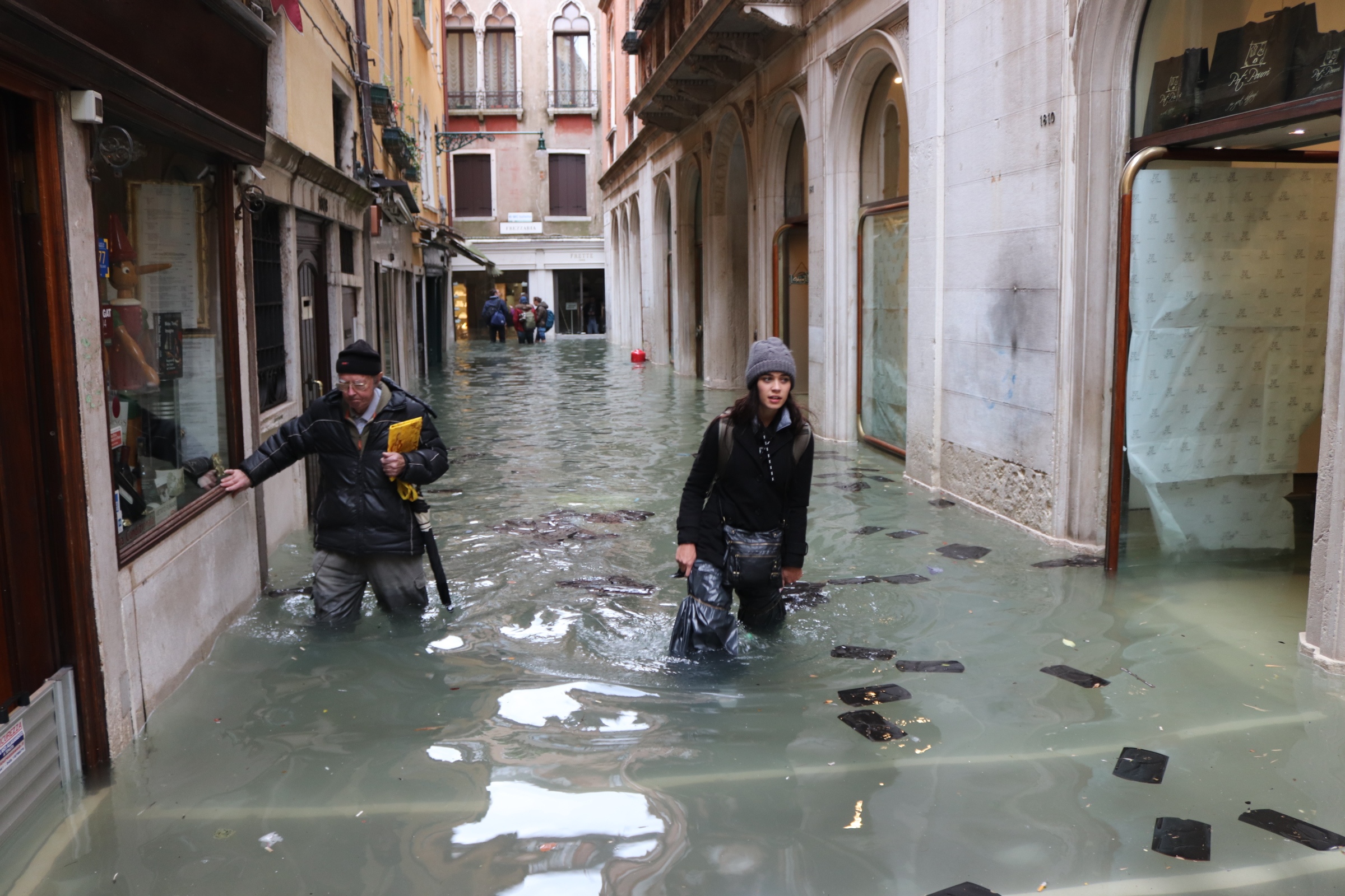 Former Dongan Hills resident experiences highest tide in Venice in 50 years
