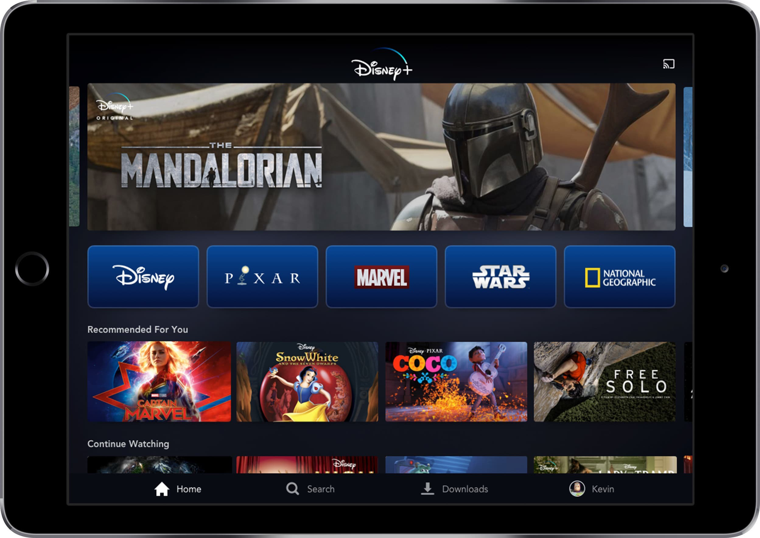 Disney launches new streaming service Disney+ in US, abroad in November