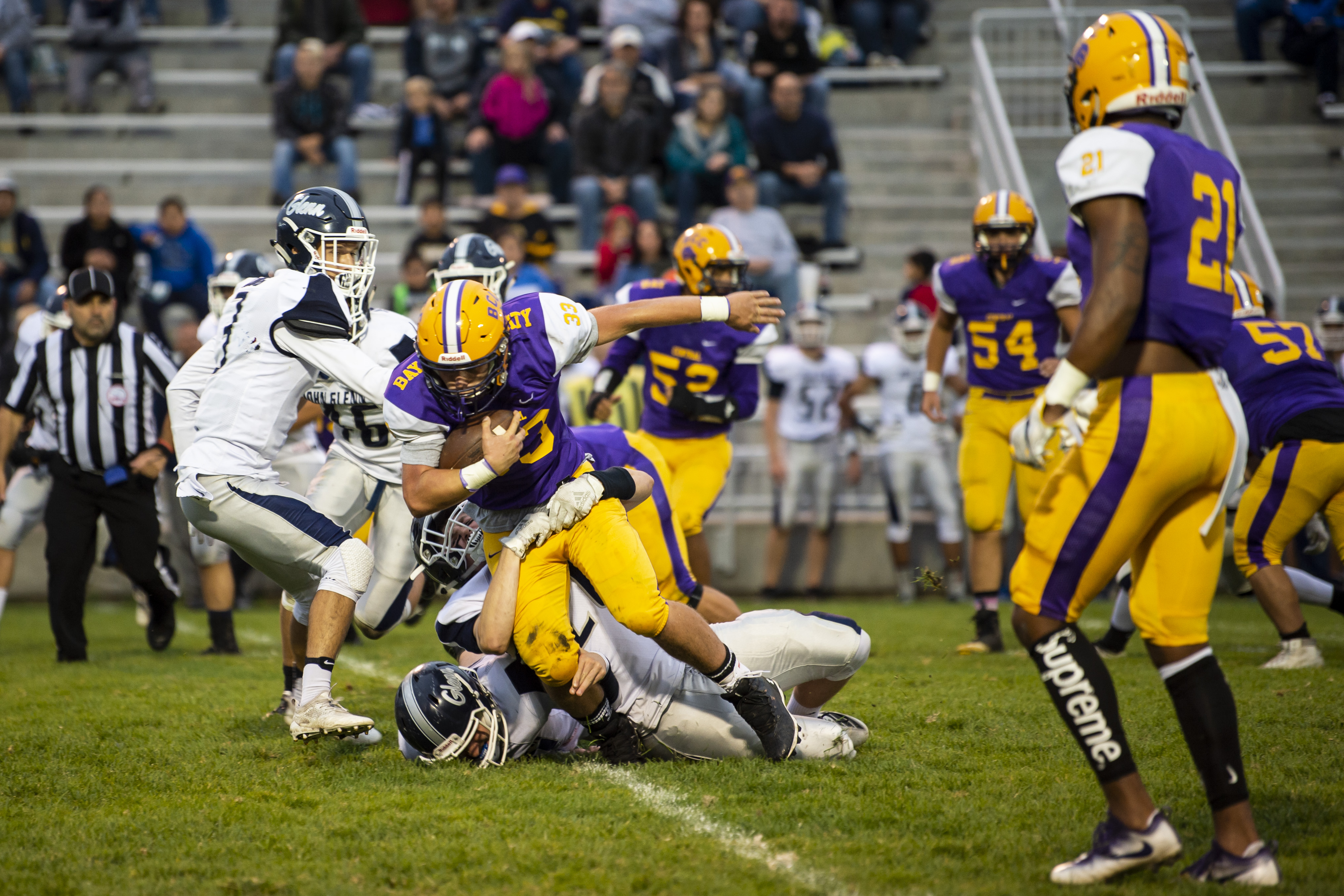 First-place clash on poll of Bay City-area's must-see Week 6 games