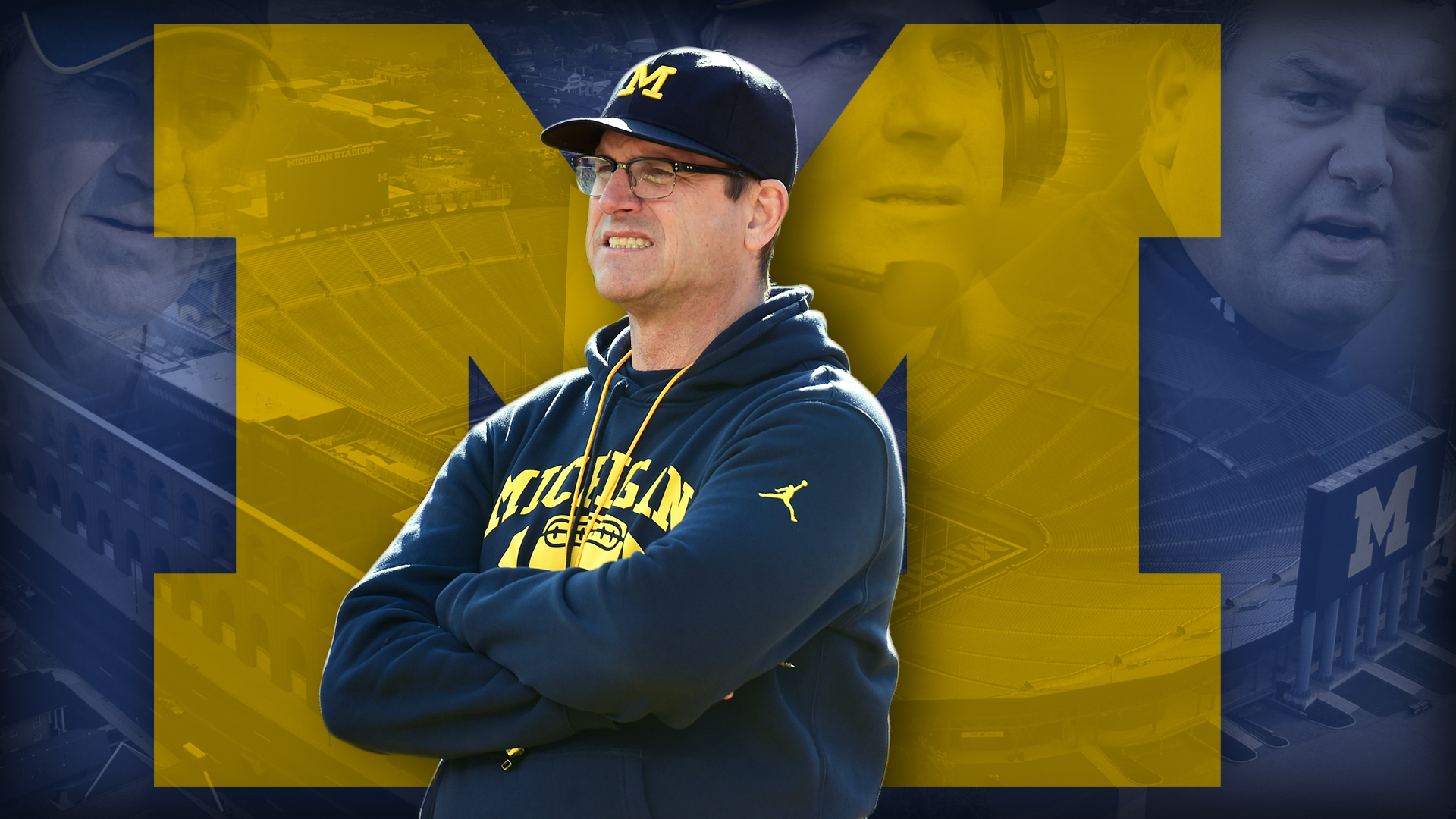 Jim Harbaugh and Michigan football: The cash is flowing but the trophy case is empty