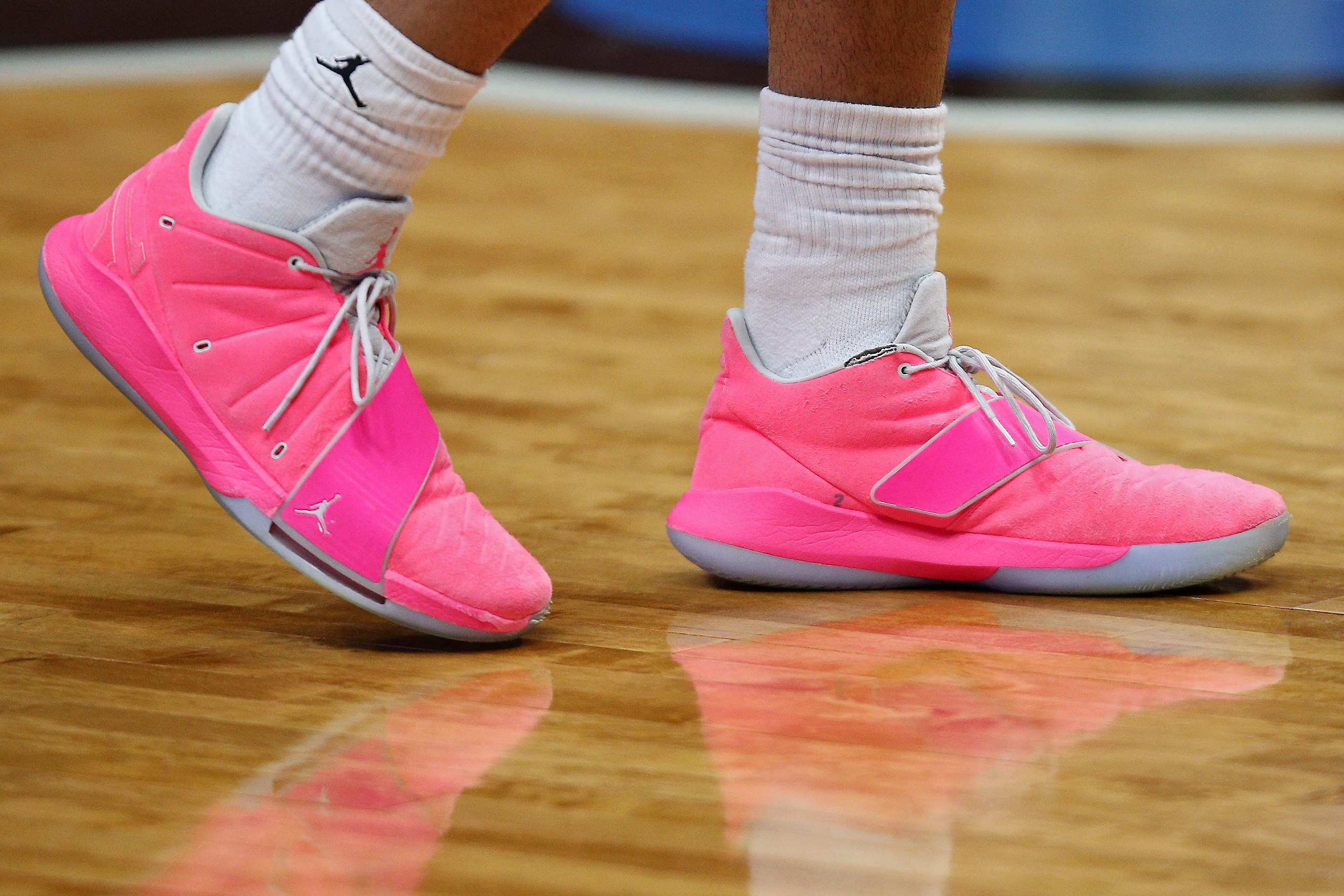 Why do some Michigan basketball players wear pink shoes? - mlive.com