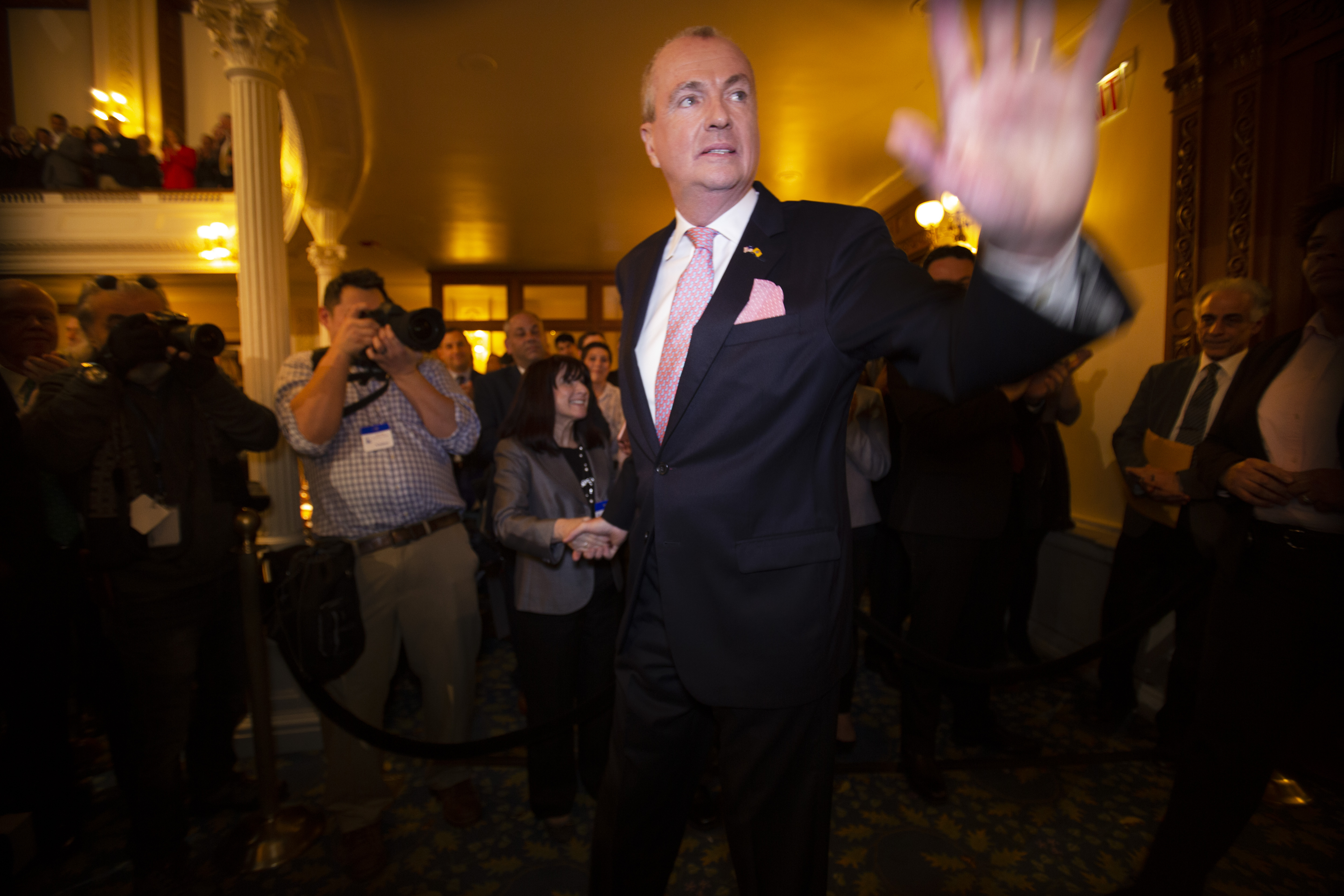 What Murphy said about taxes, sexual harassment in politics and NJ Transit in State of State address