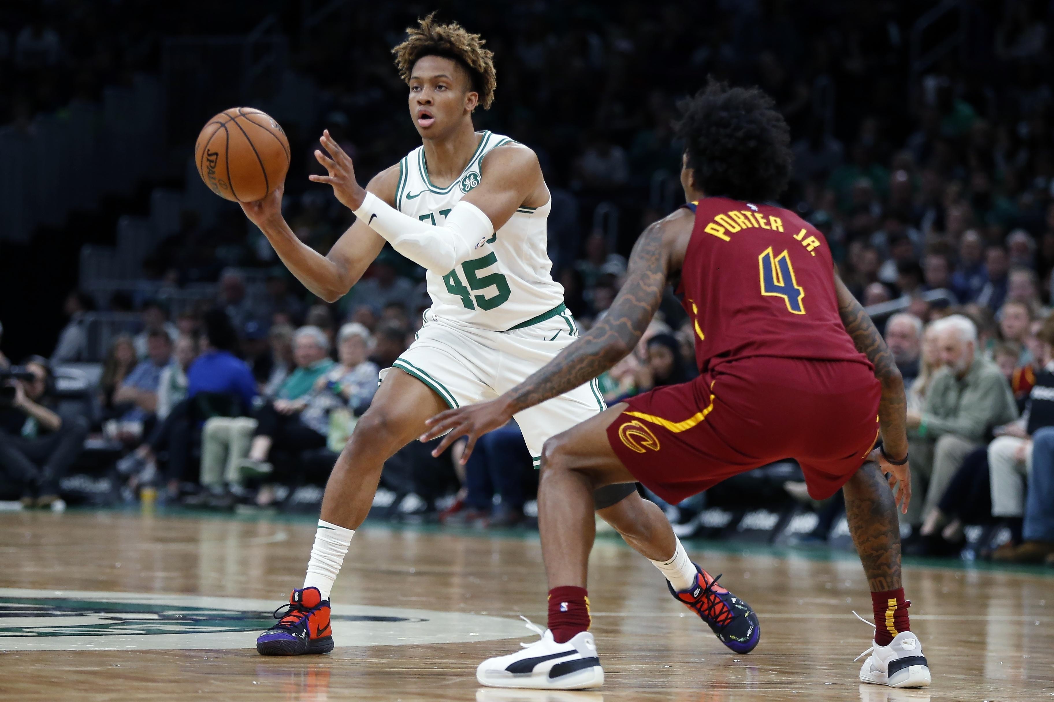 Boston Celtics Teammates Staffers Love Quirky Ride Hitching Coach Tweaking Romeo Langford Masslive Com