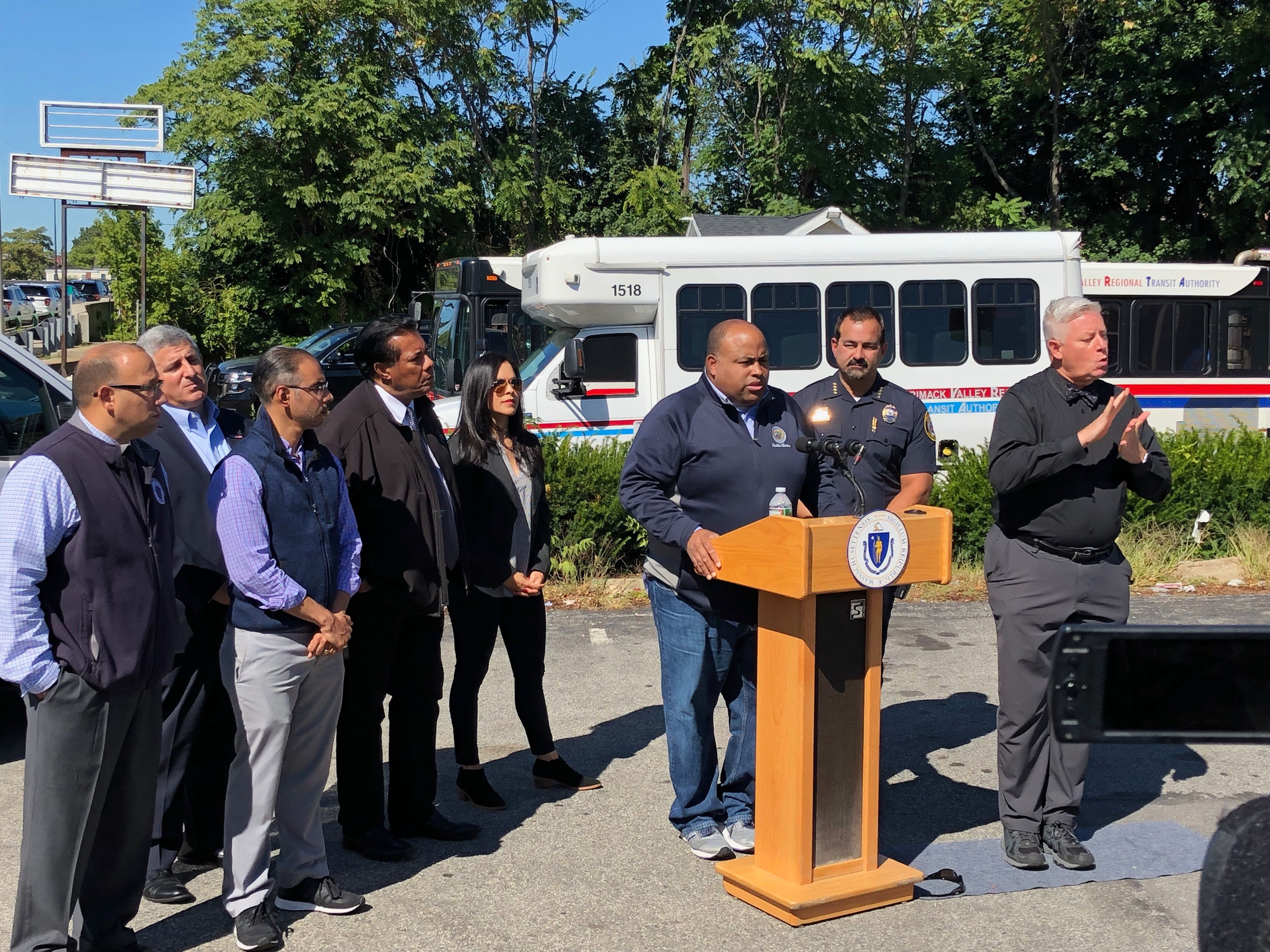 'None of that is true,' Lawrence Mayor Daniel Rivera says of shooting rumors following evacuation of high school