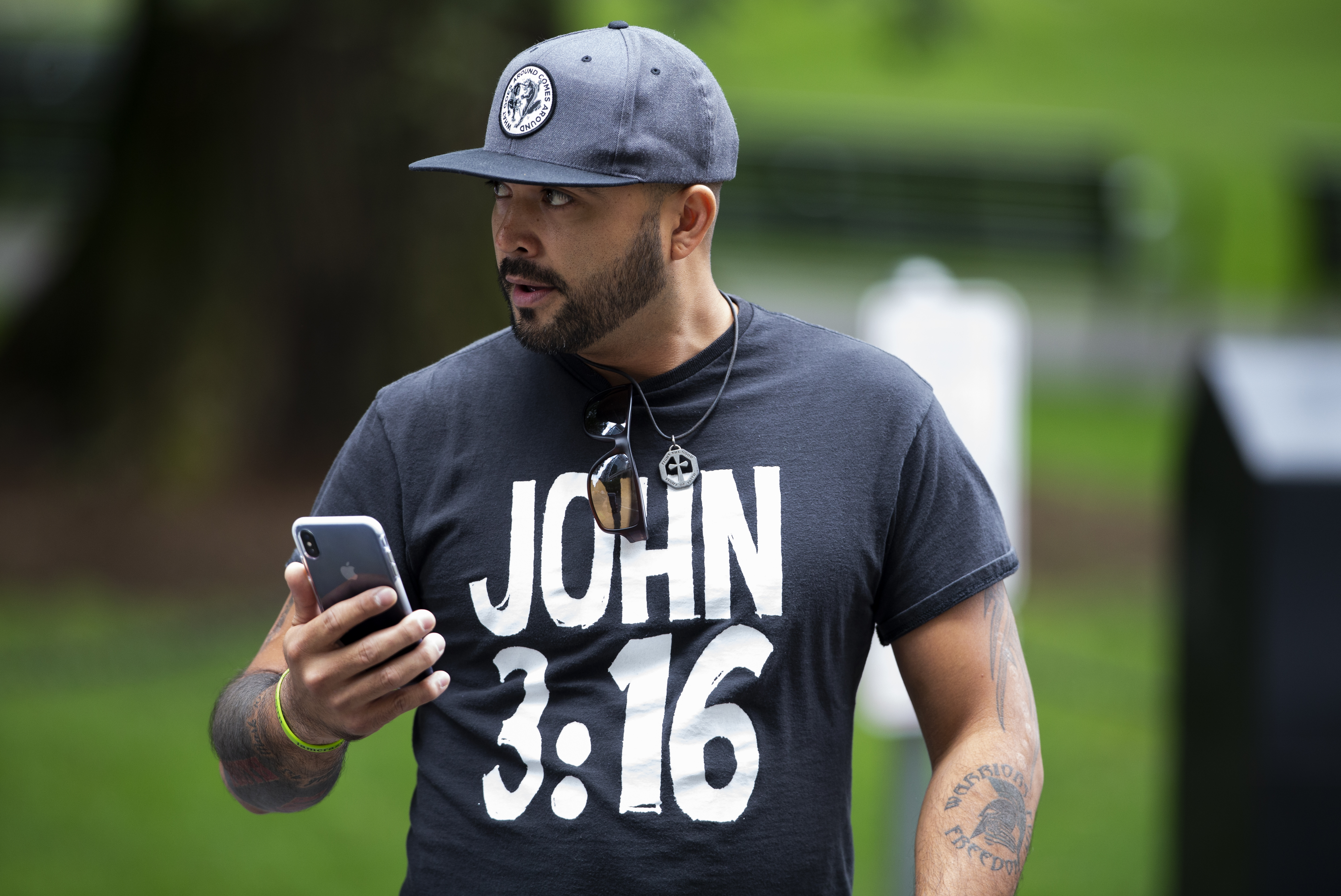 Patriot Prayer leader Joey Gibson uses untraceable church to drum up legal defense funds
