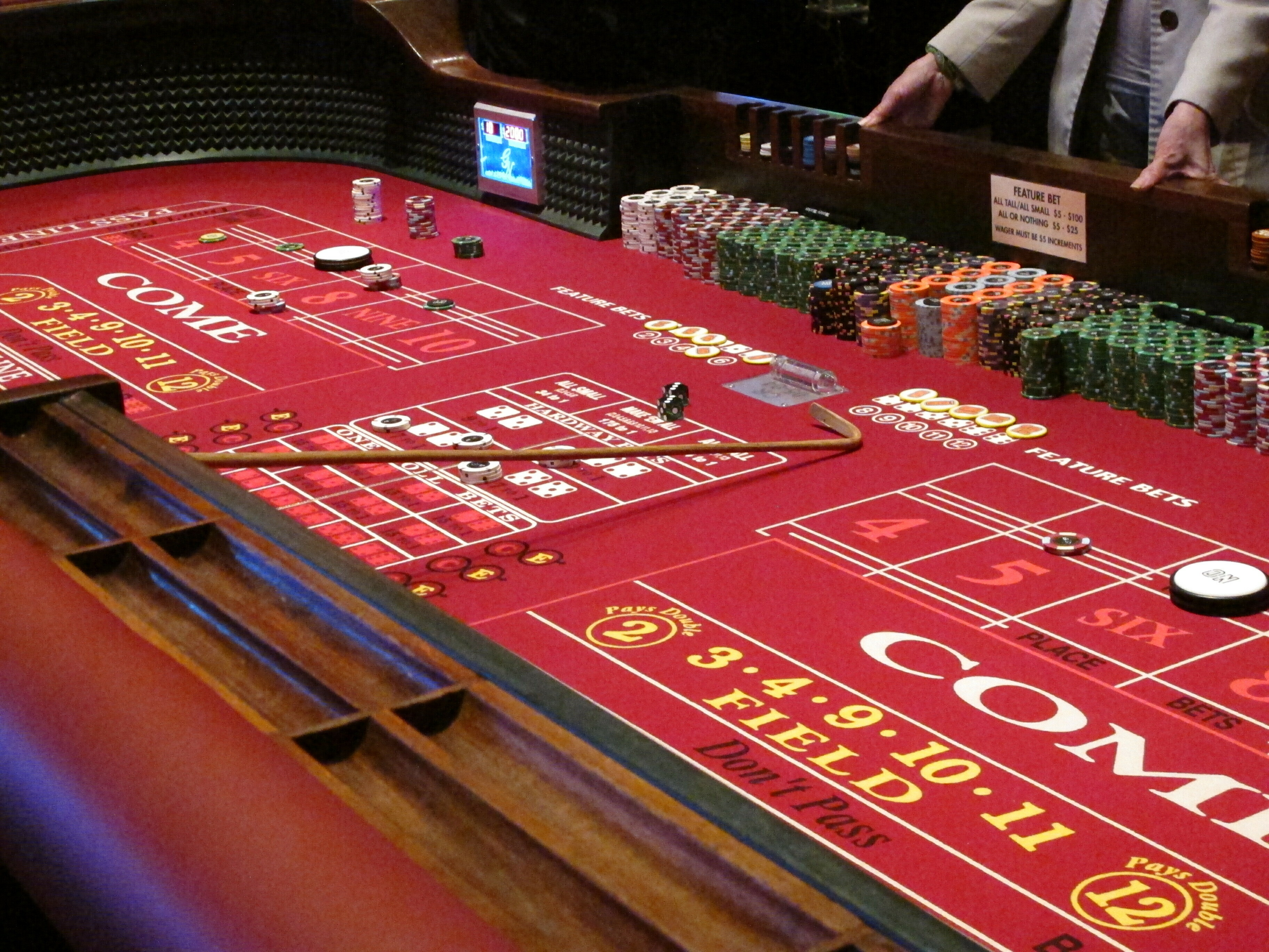 city gambling games smallest