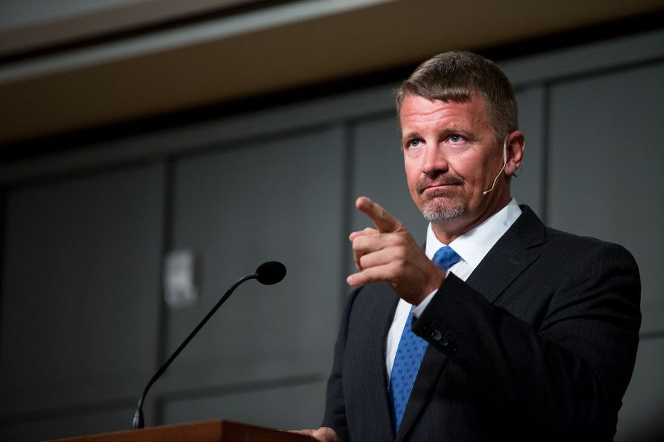 Erik Prince to face criminal referral for alleged false statements to Congress