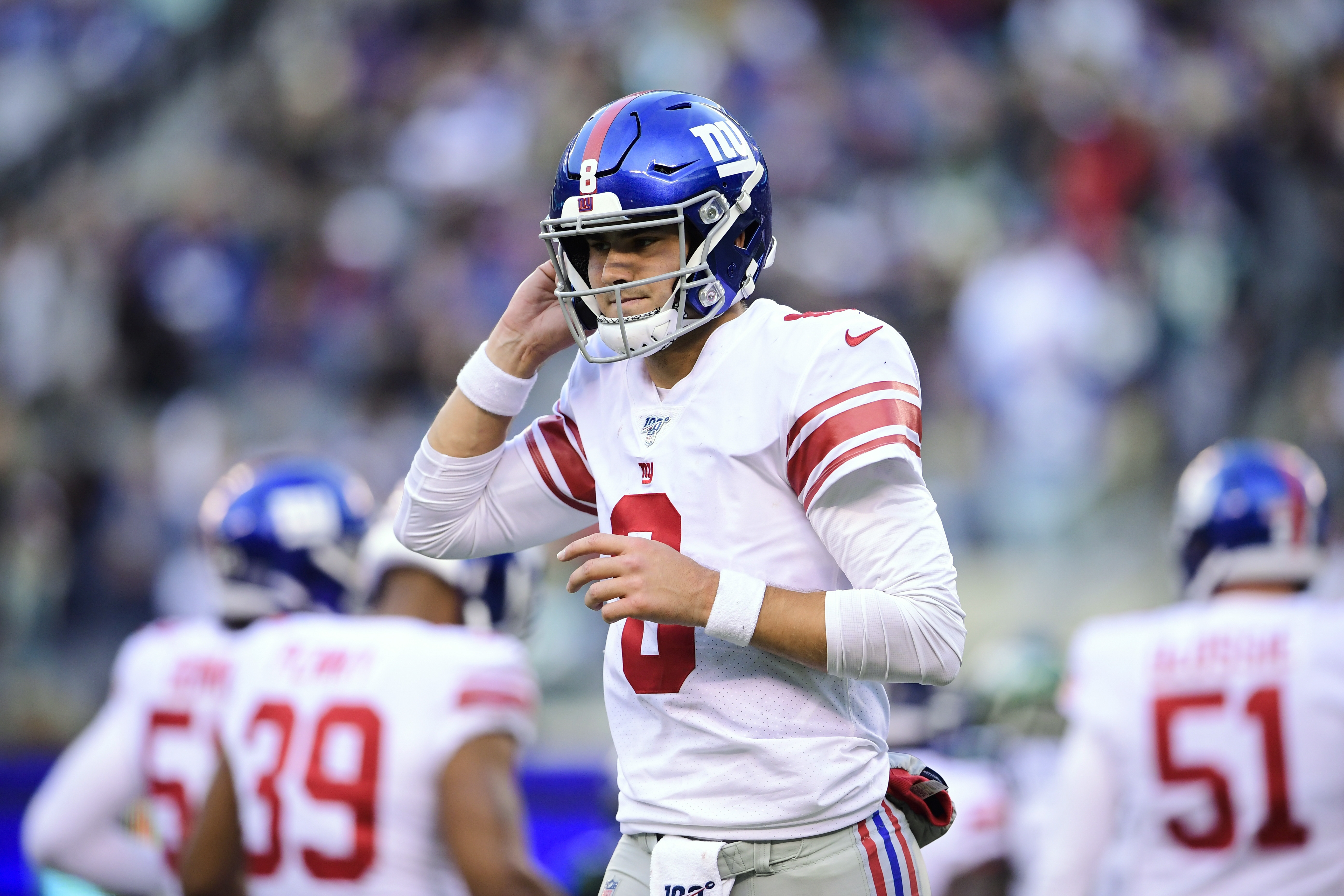 If Giants' Daniel Jones doesn't play again this season due to high ankle sprain, here's what he must do to improve in 2020