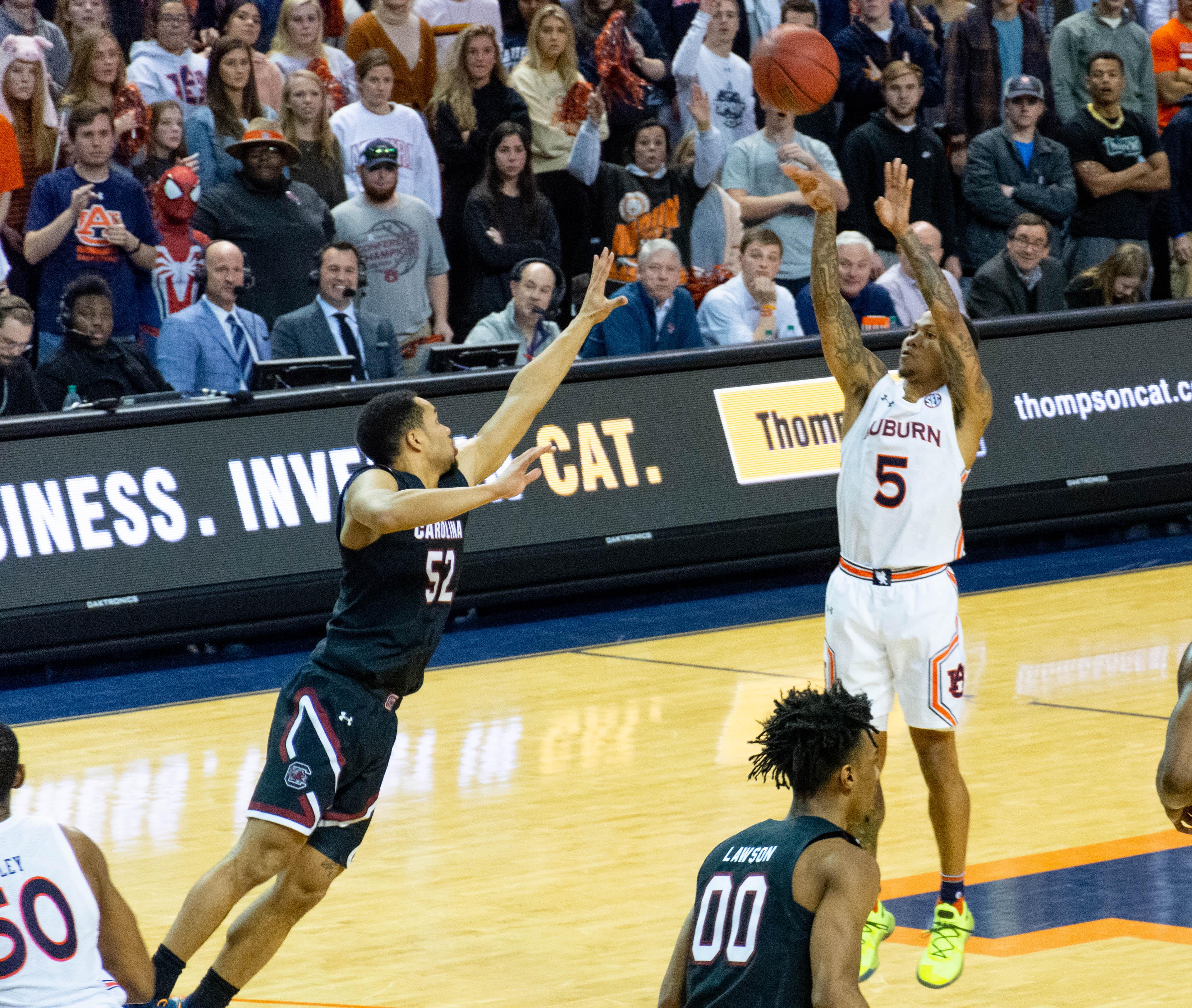 Rewinding Auburn Basketball S Win Over South Carolina Al Com