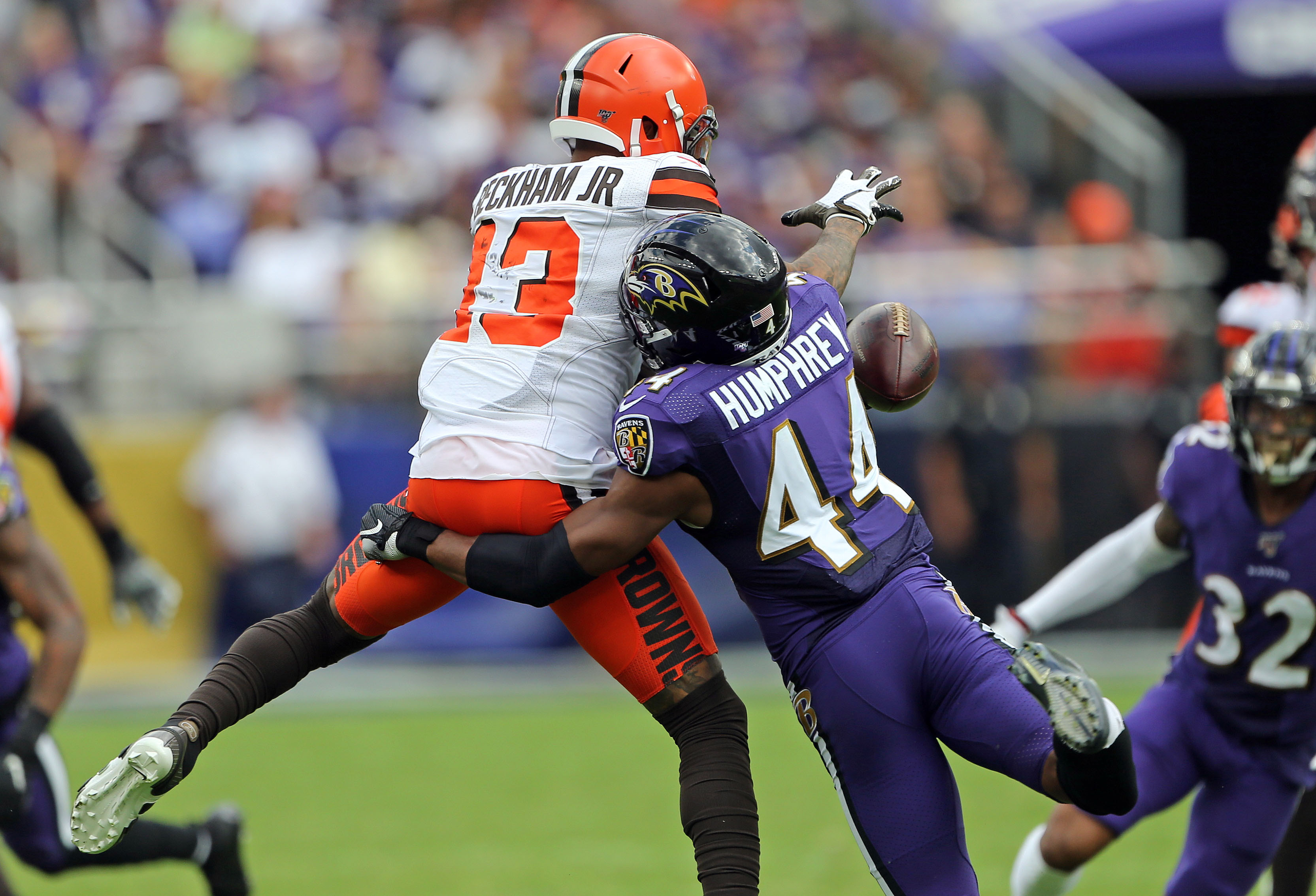 Odell Beckham Jr. fined for Marlon Humphrey fight, won't say he was choked, and didn't do 'what I wanted to do' to him