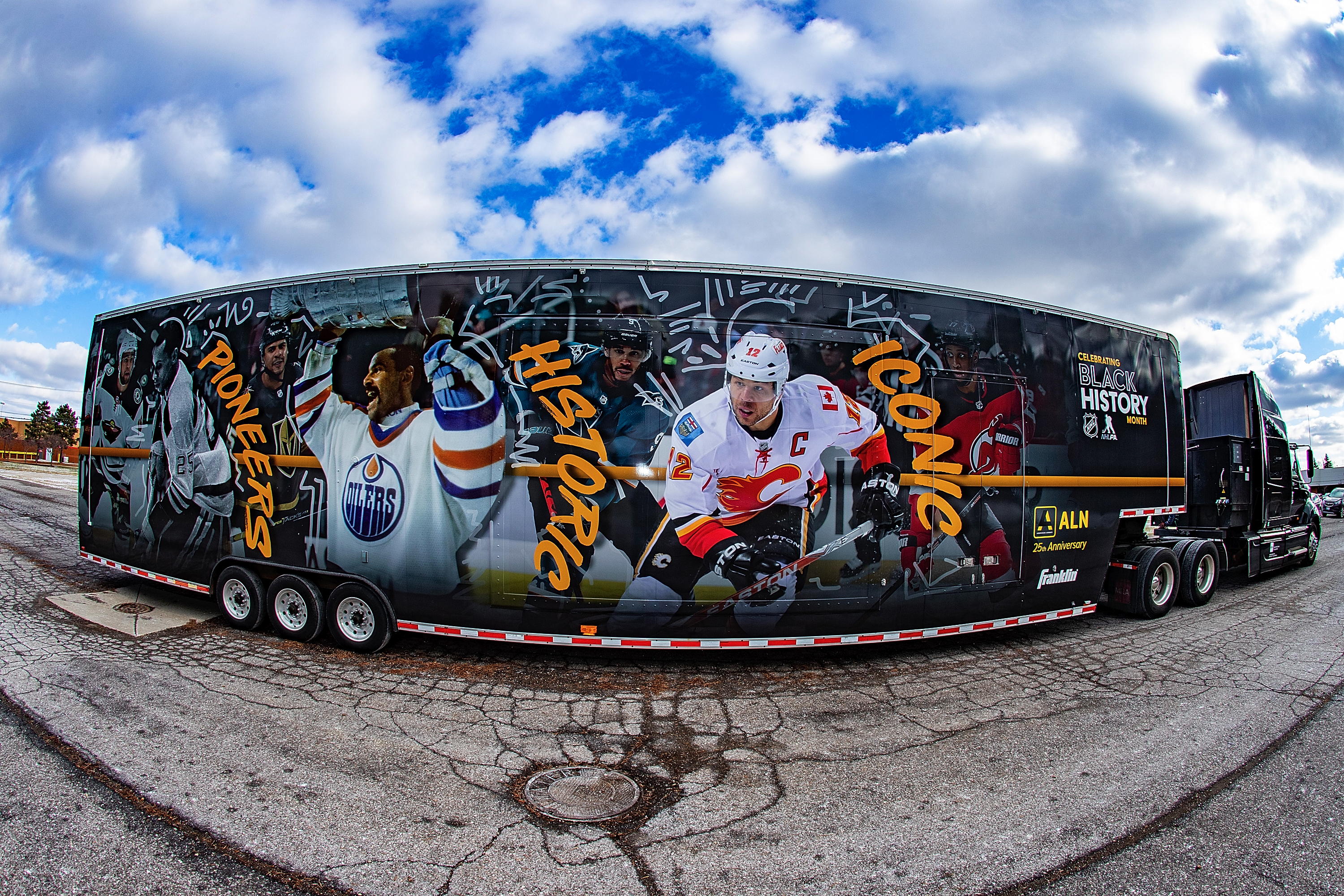 Flint youth players take in NHL Black Hockey History Tour