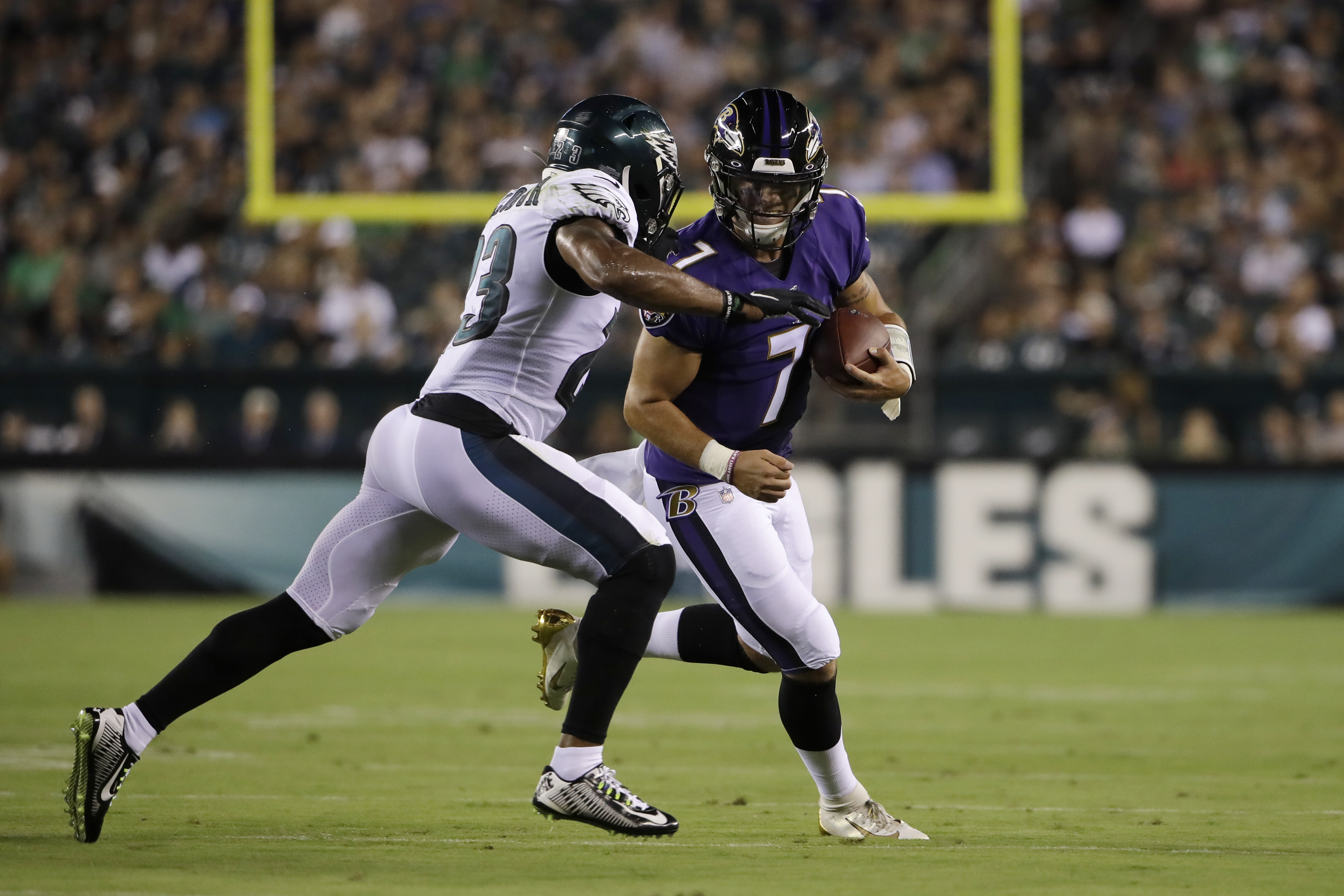 Baltimore Ravens beat Eagles, 26-15, in shortened preseason win: What we learned