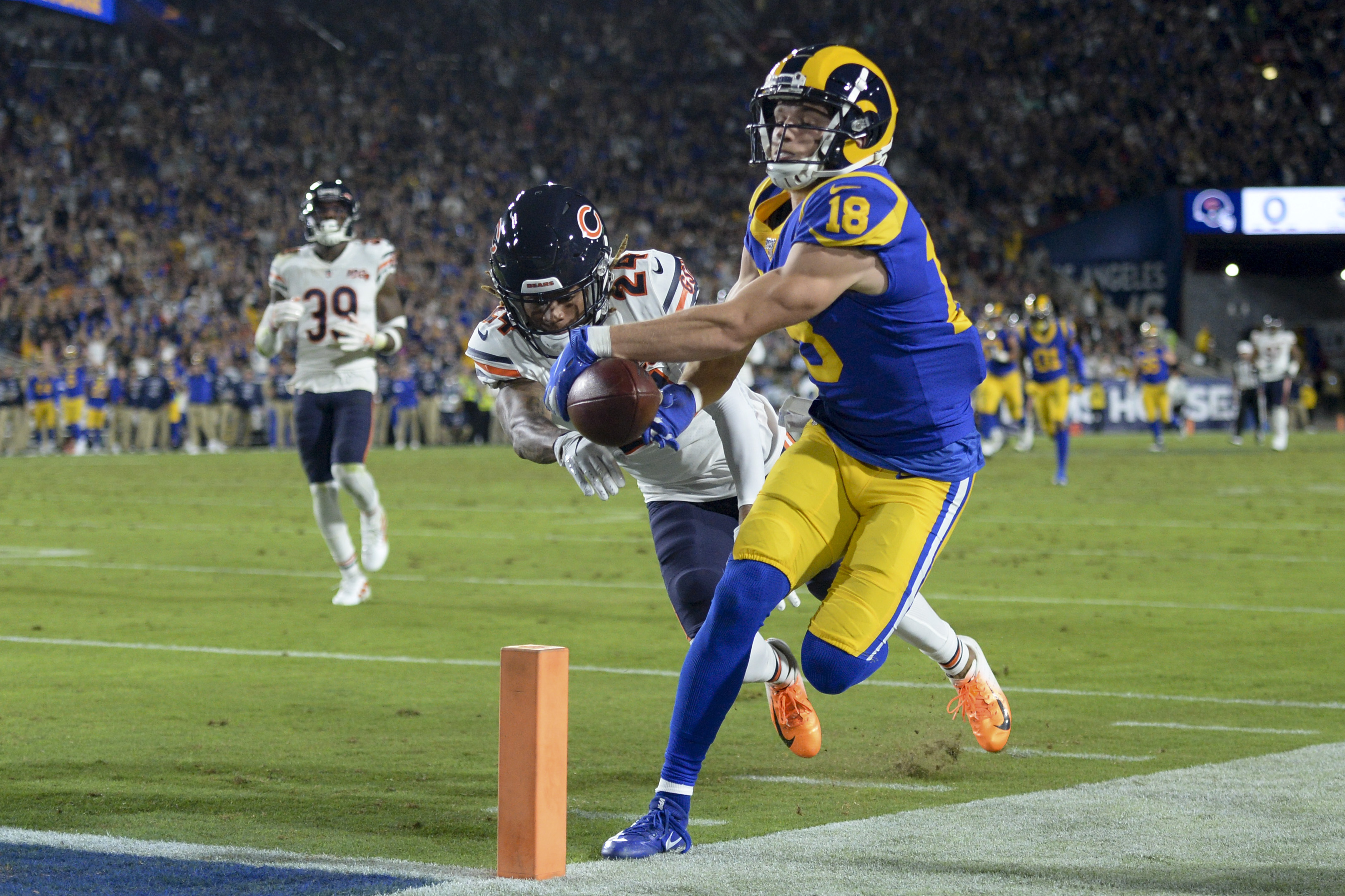 Los Angeles Rams Grind Out Win Over The Punchless Chicago Bears Recap Score Stats And More Oregonlive Com