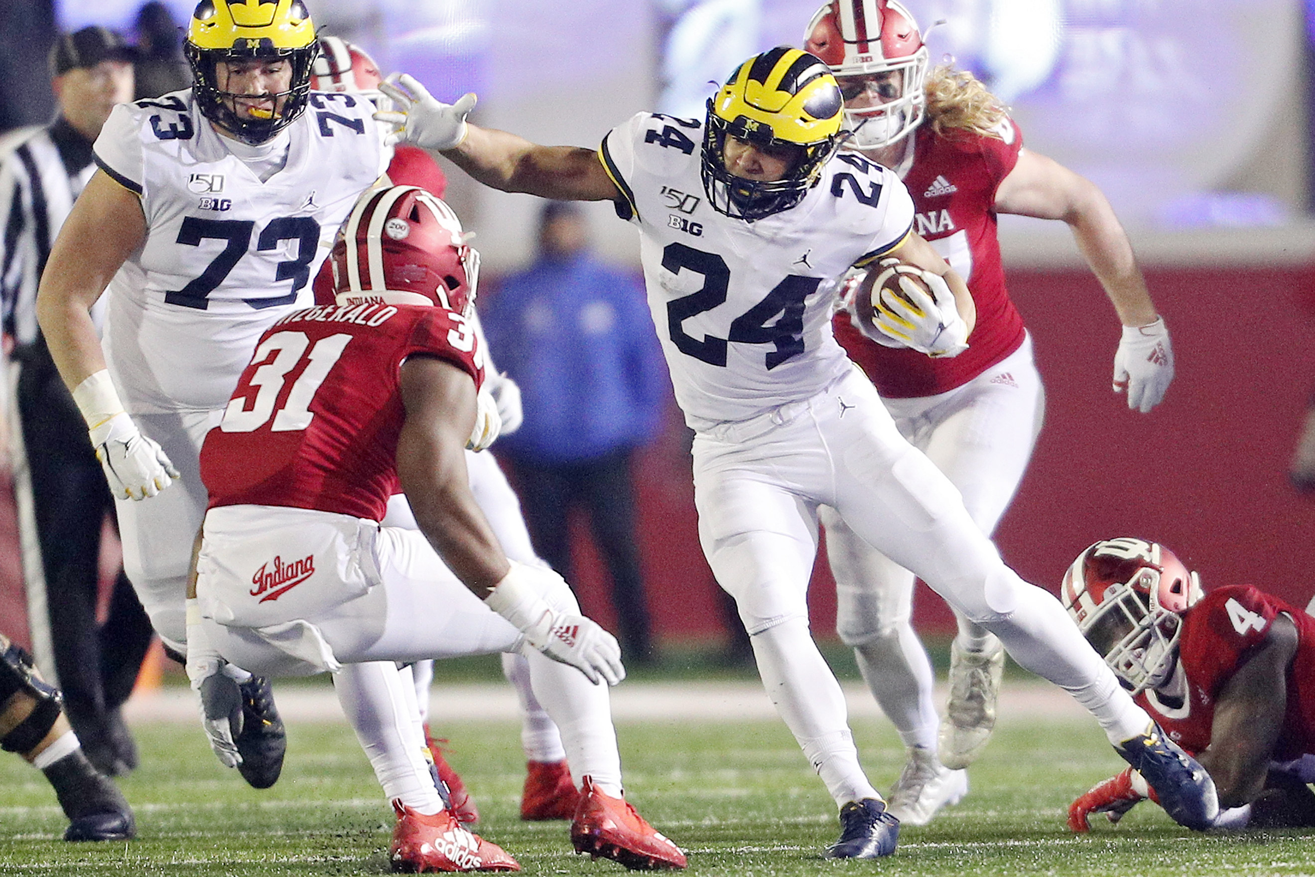 Michigan Doesn T Move In Latest College Football Playoff