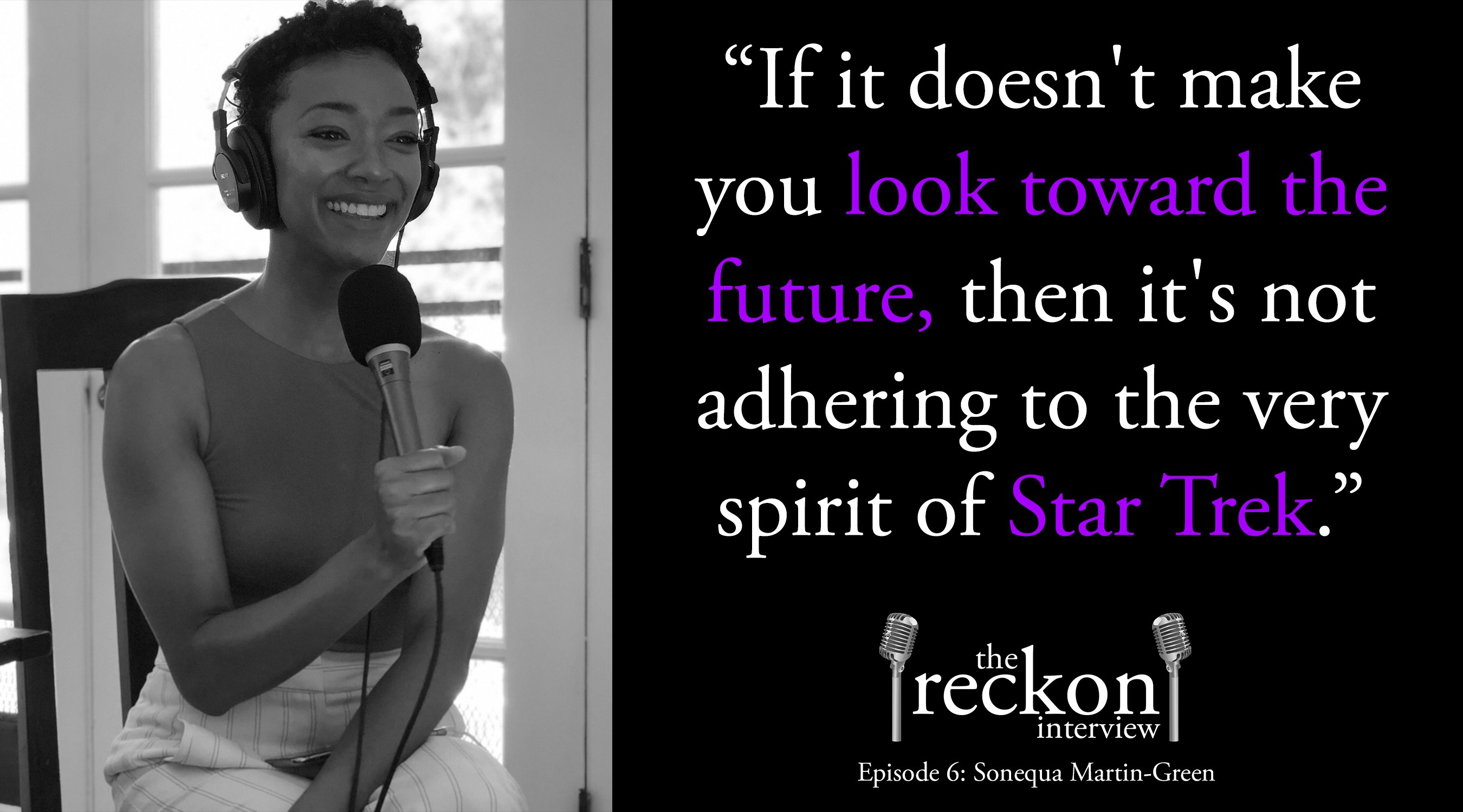 Sonequa Martin-Green on Star Trek, Walking Dead, Space Jam and Alabama