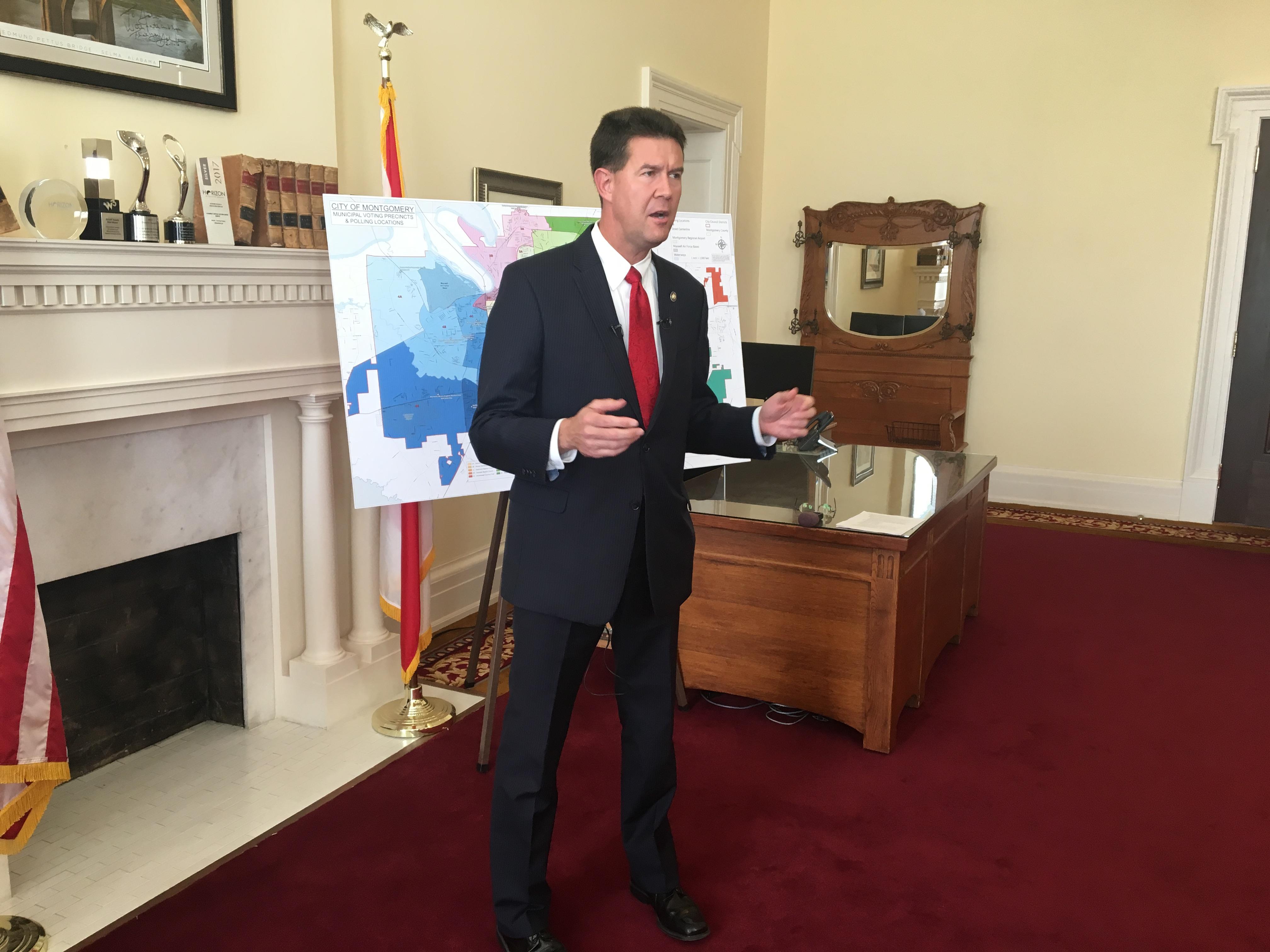 John Merrill will monitor runoff in Montgomery mayor's race