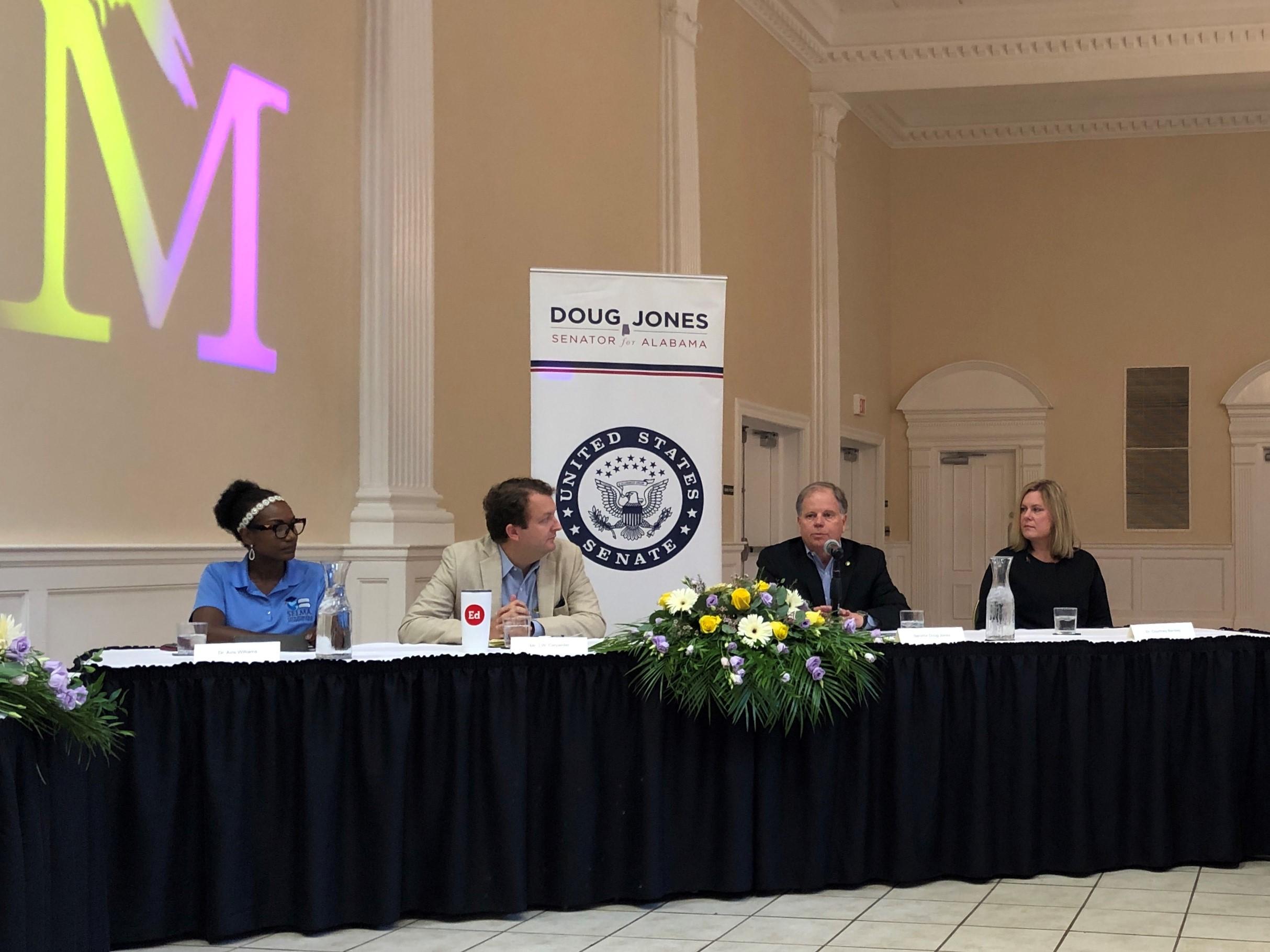 Sen. Doug Jones: Teacher shortage is very complicated
