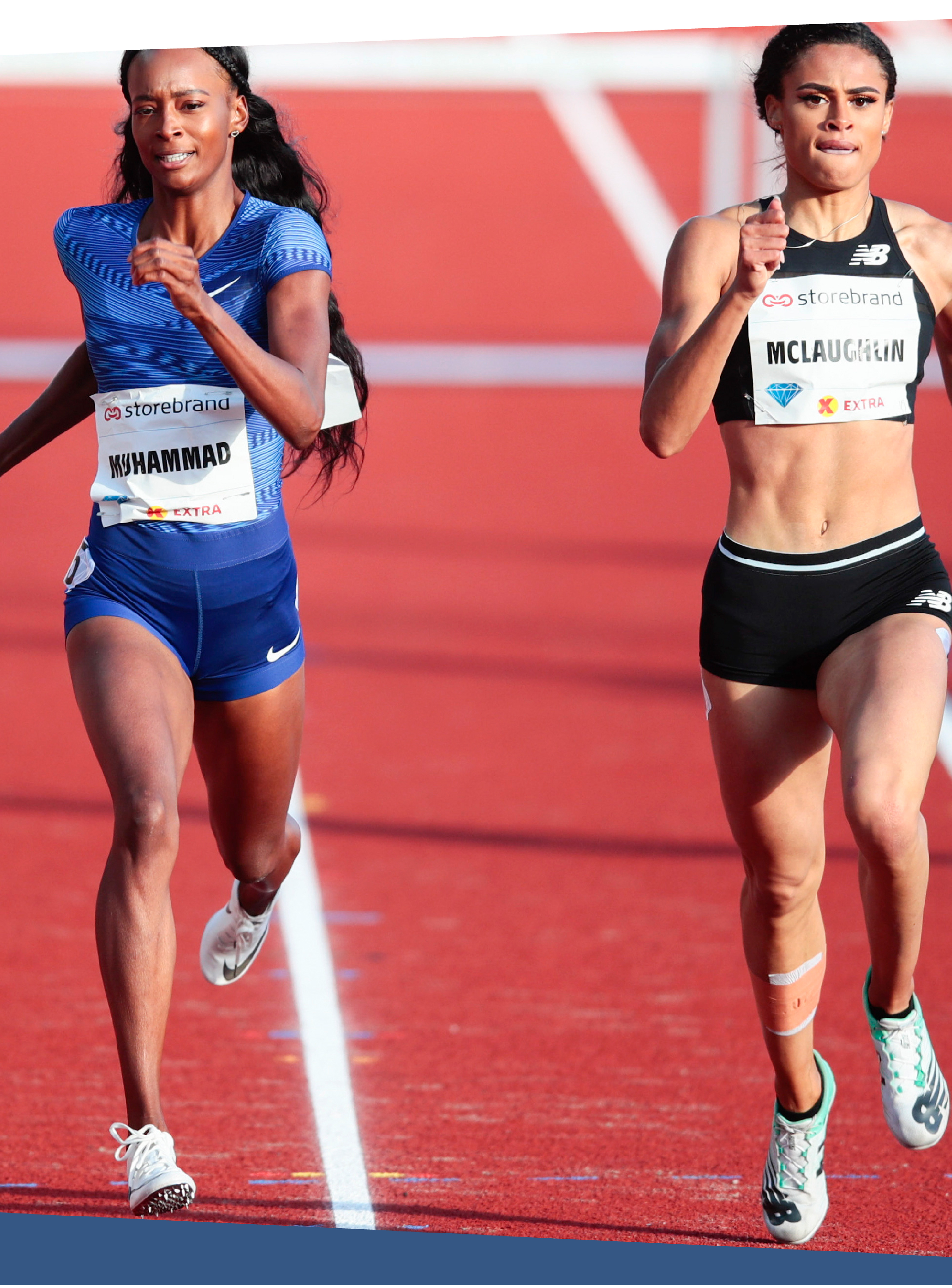 McLaughlin has developed a rivalry with 2016 Olympic gold medal winner Dalilah Muhammad, who set the world record in July.