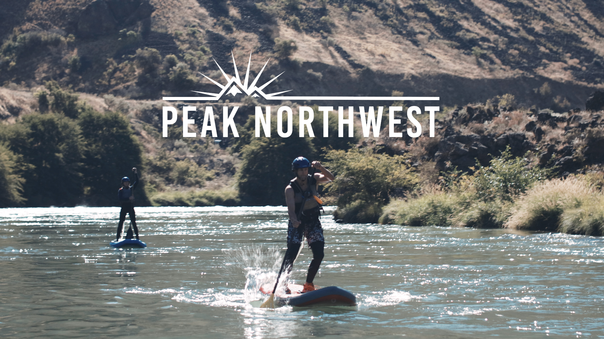 PEAK NORTHWEST: We tried stand-up whitewater paddleboarding on the Deschutes River. Here's how it went. (video)