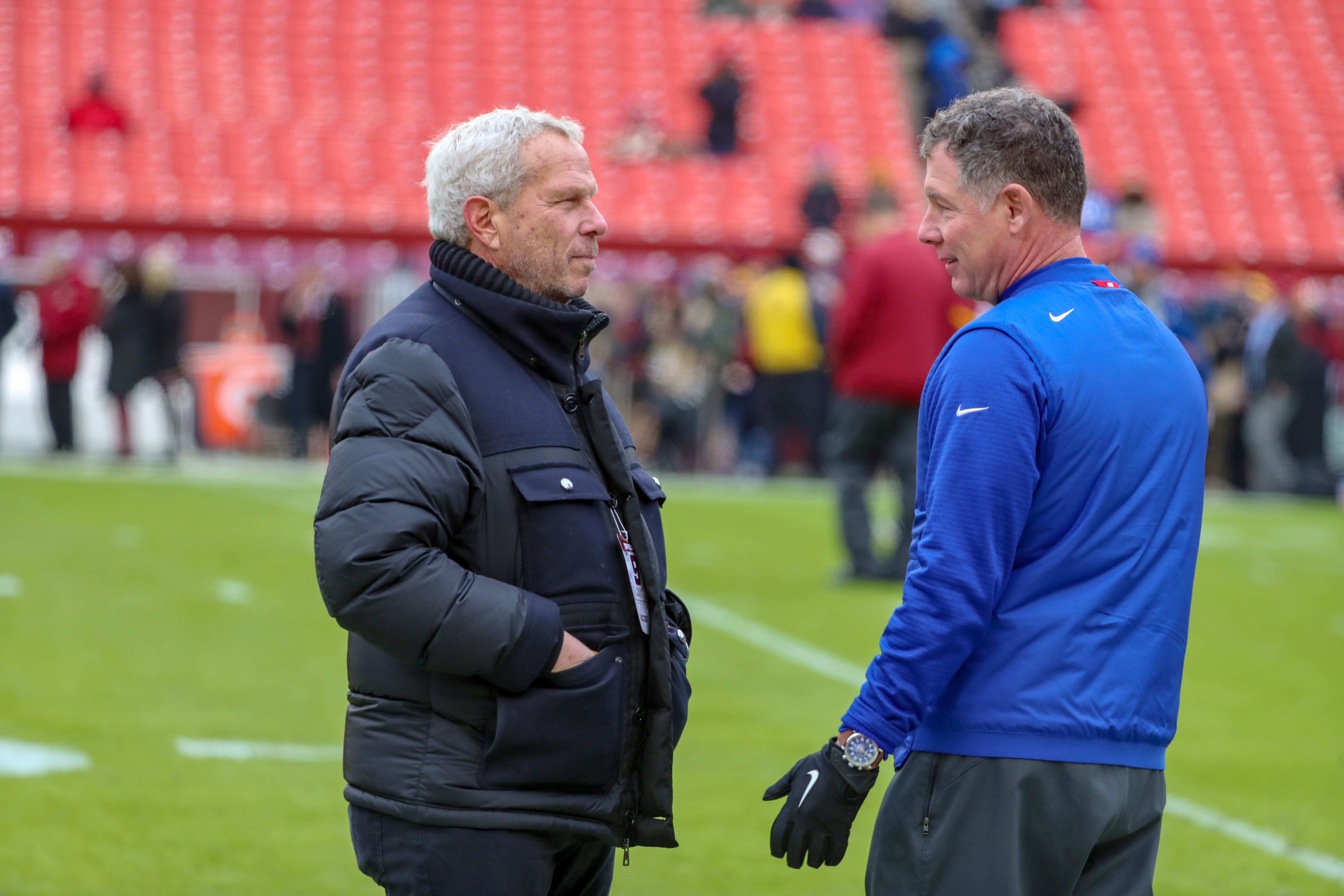 Giants' Steve Tisch doesn't give Pat Shurmur and Dave Gettleman a vote of confidence