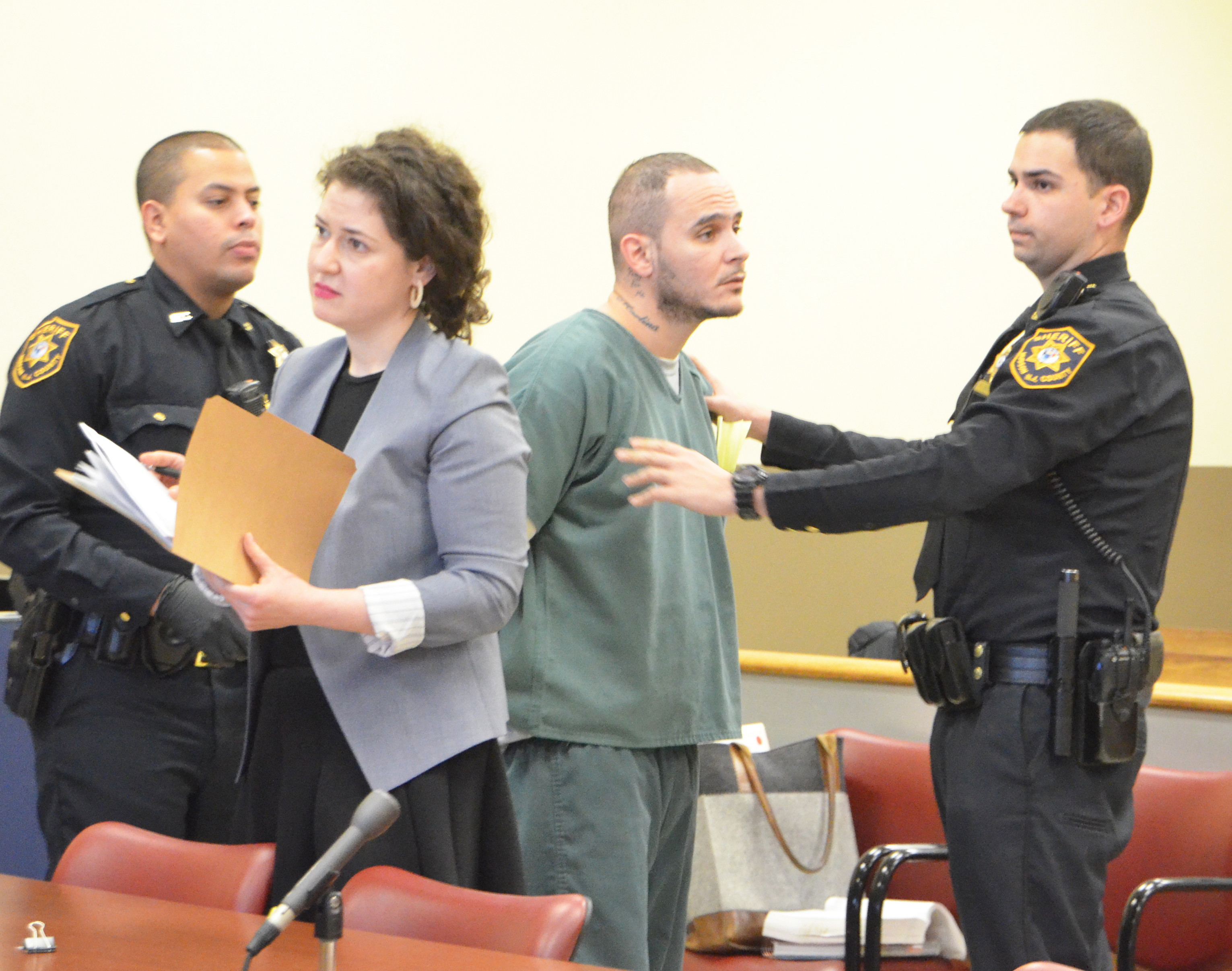 Jersey City felon walks out of his own sentencing