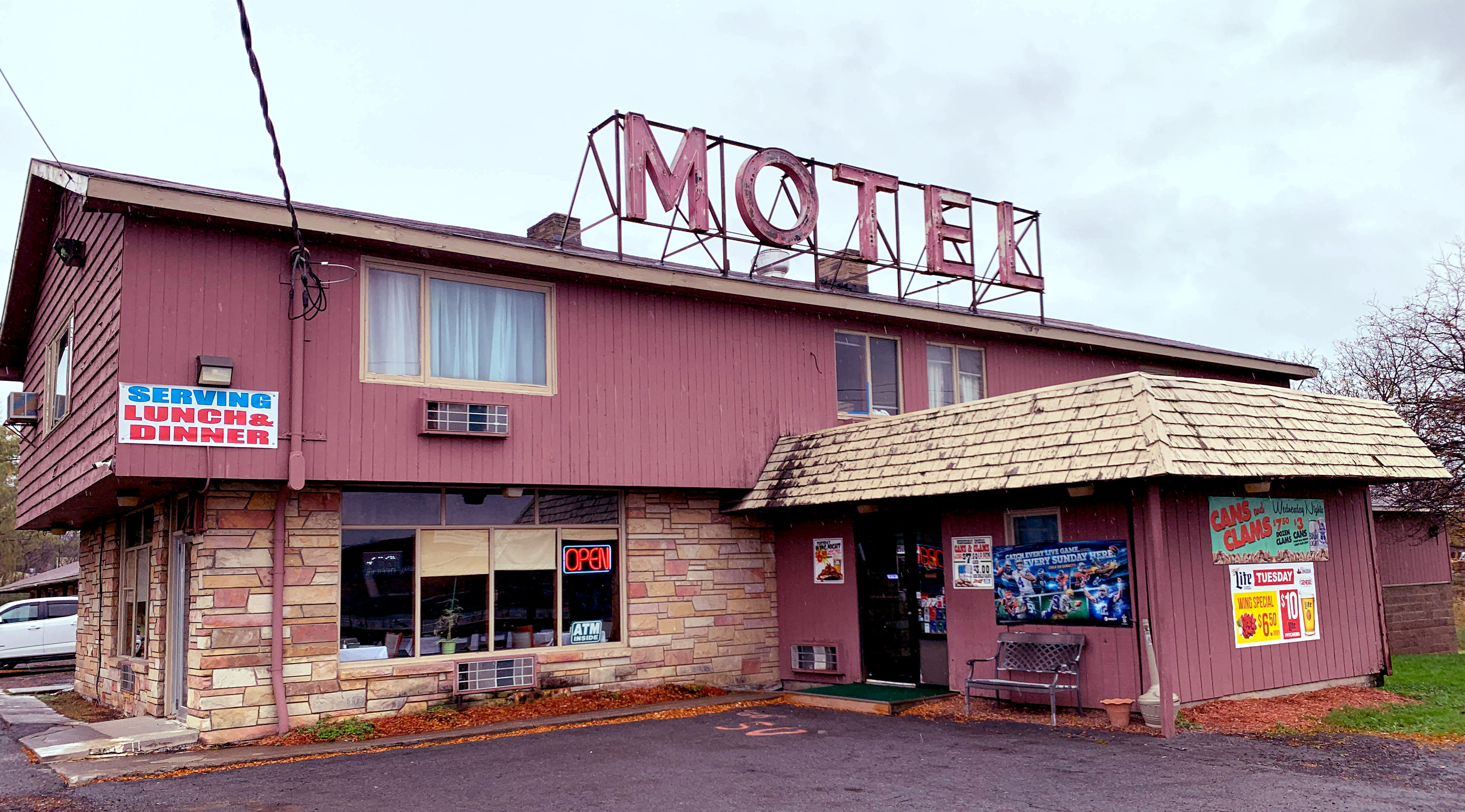 Hidden Gems of CNY: A motel restaurant stuck in the past ... on purpose