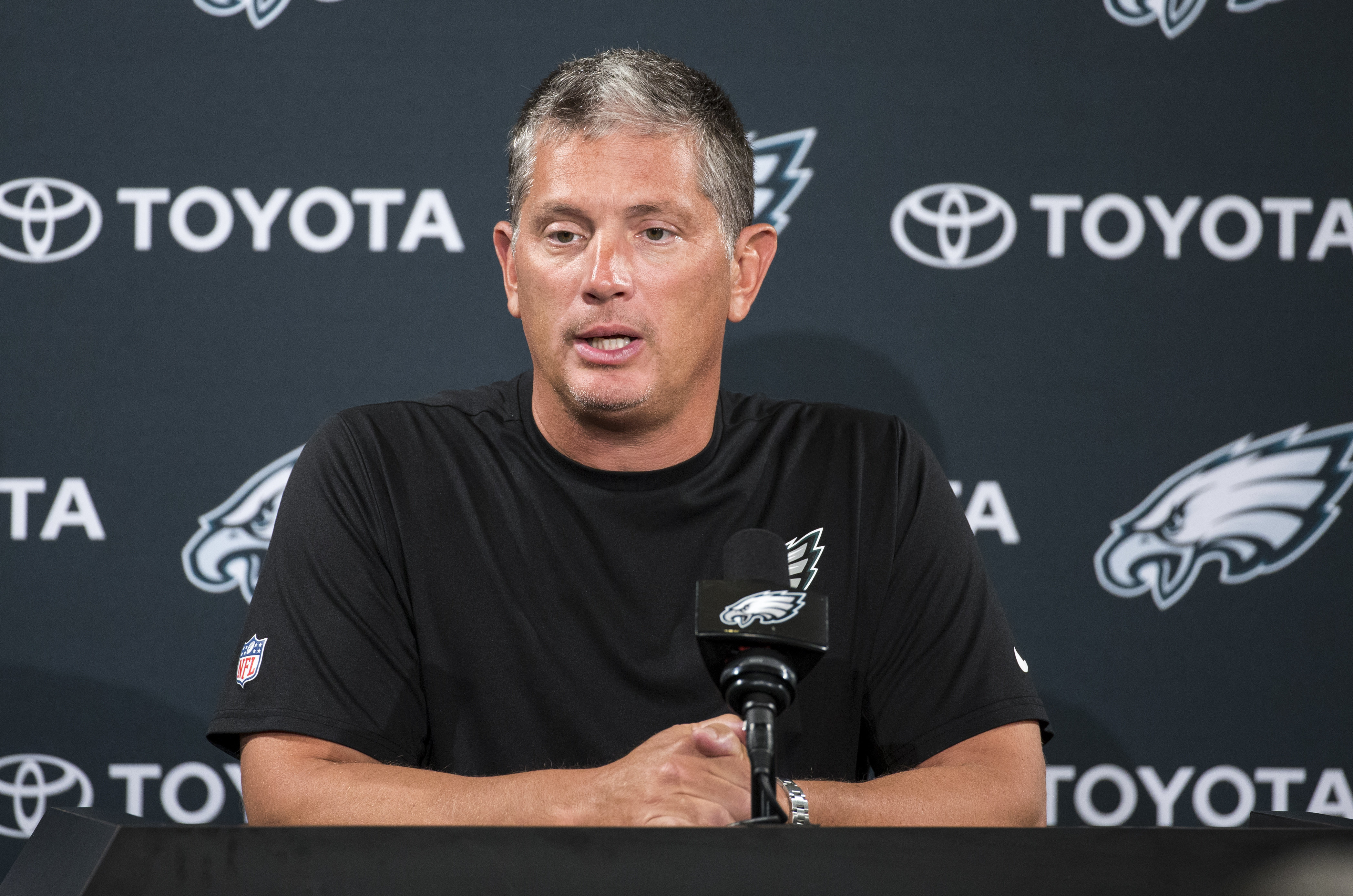 Here's the reason the Giants ultimately hired Pat Shurmur instead of Eagles' Jim Schwartz as head coach