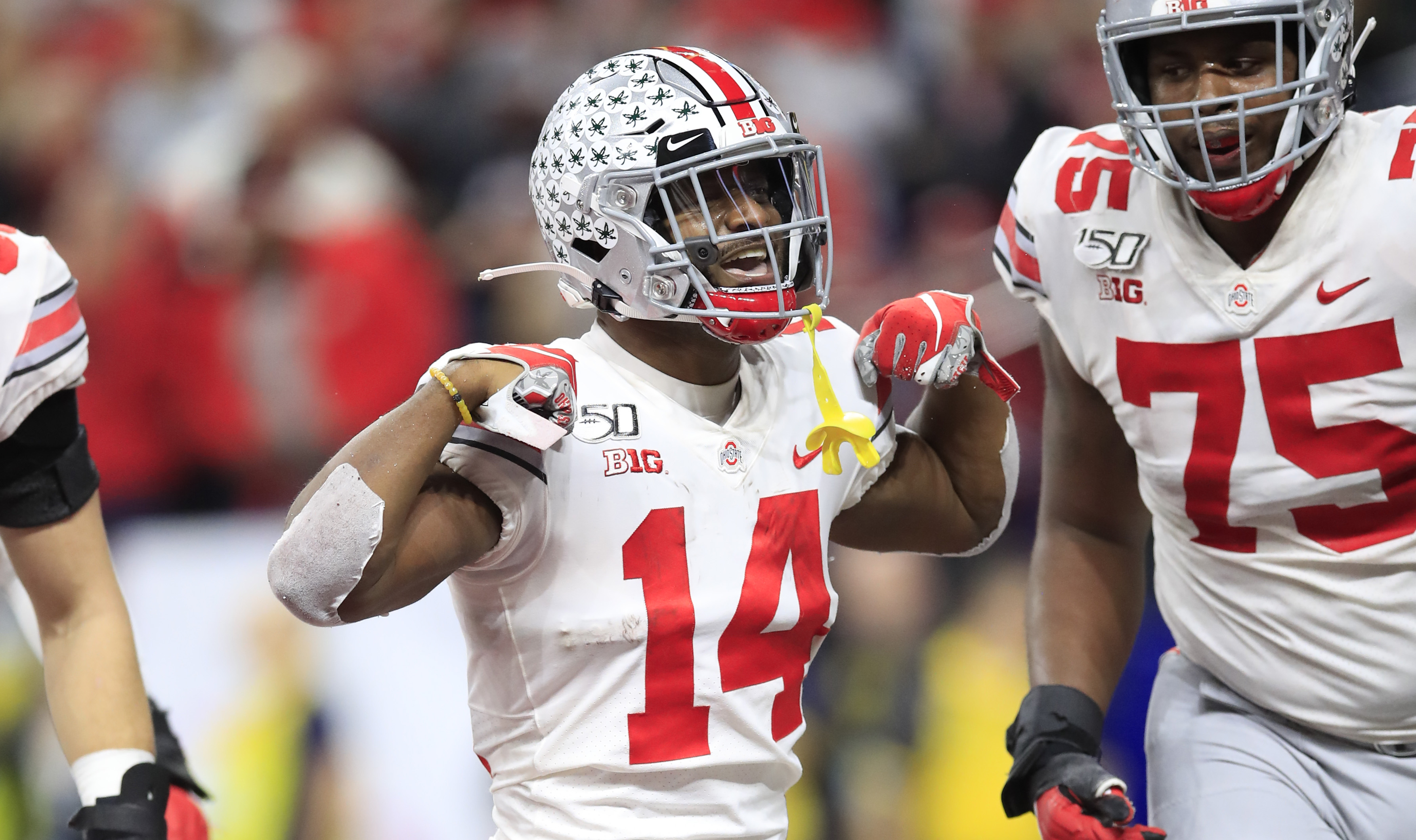 Ohio State Football Surges Past Wisconsin For 34 21 Victory