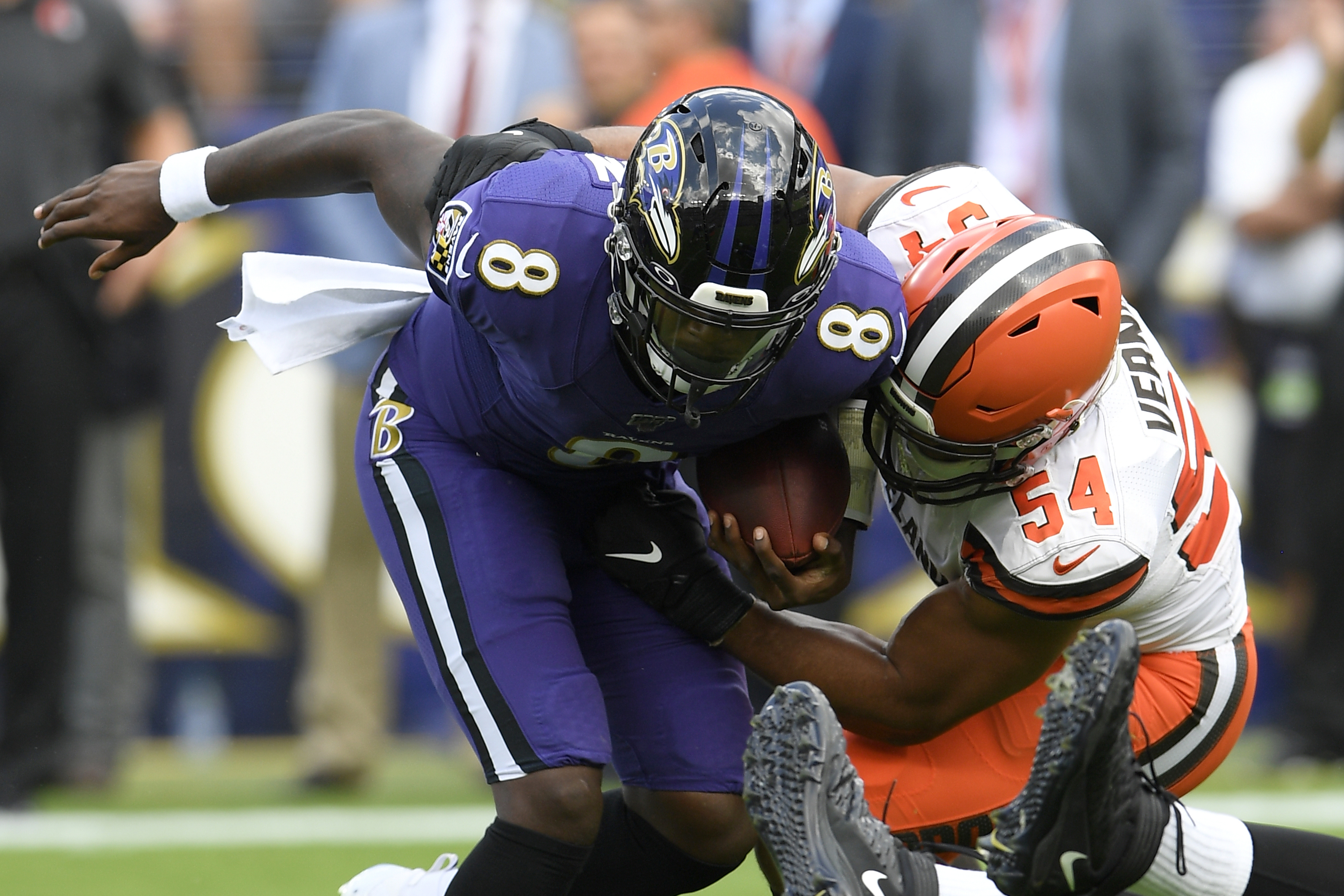 Browns defense lives up to its standard against Ravens: 'This is a defensive team'