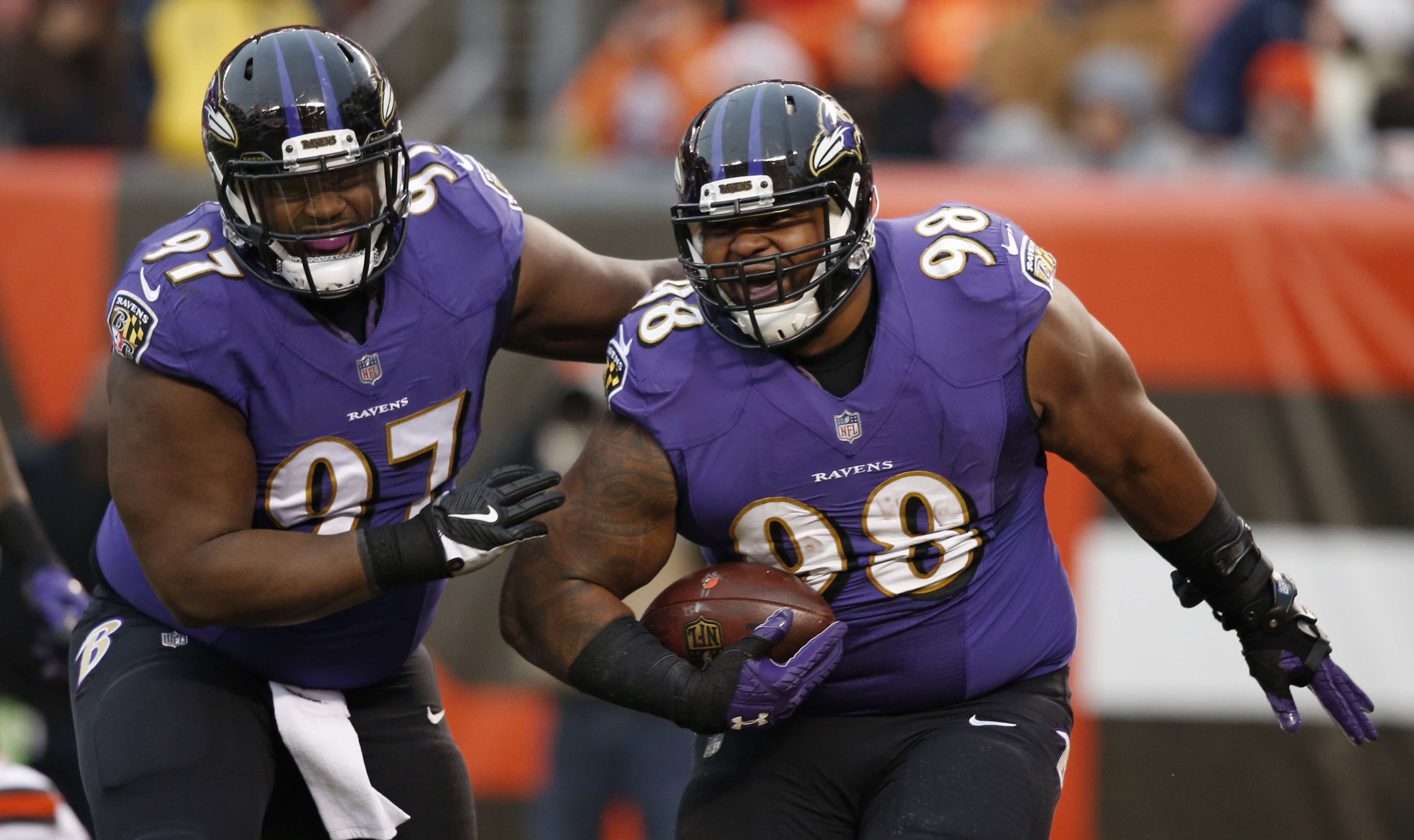 Baltimore Ravens Lean On Fsu Brothers Patrick Ricard S Holiday Gift Giving Burden And More Pennlive Com
