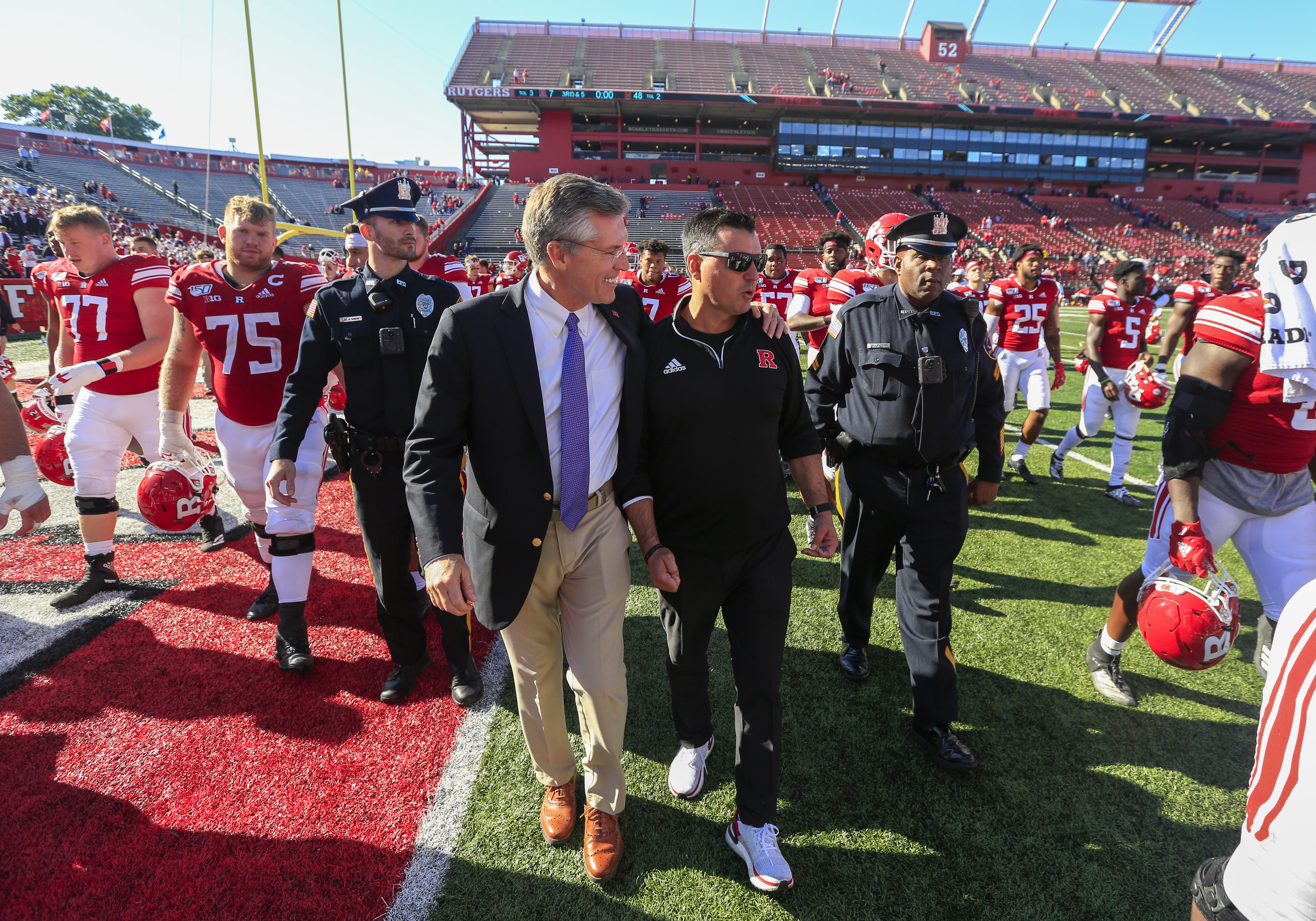 Nunzio Campanile is handling an impossible situation at Rutgers with poise   Politi
