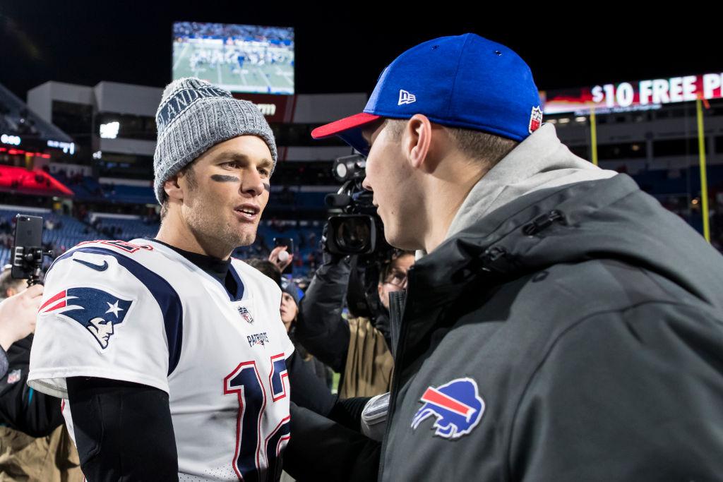 Patriots' Tom Brady playing role in Buffalo Bills QB Josh Allen's development?