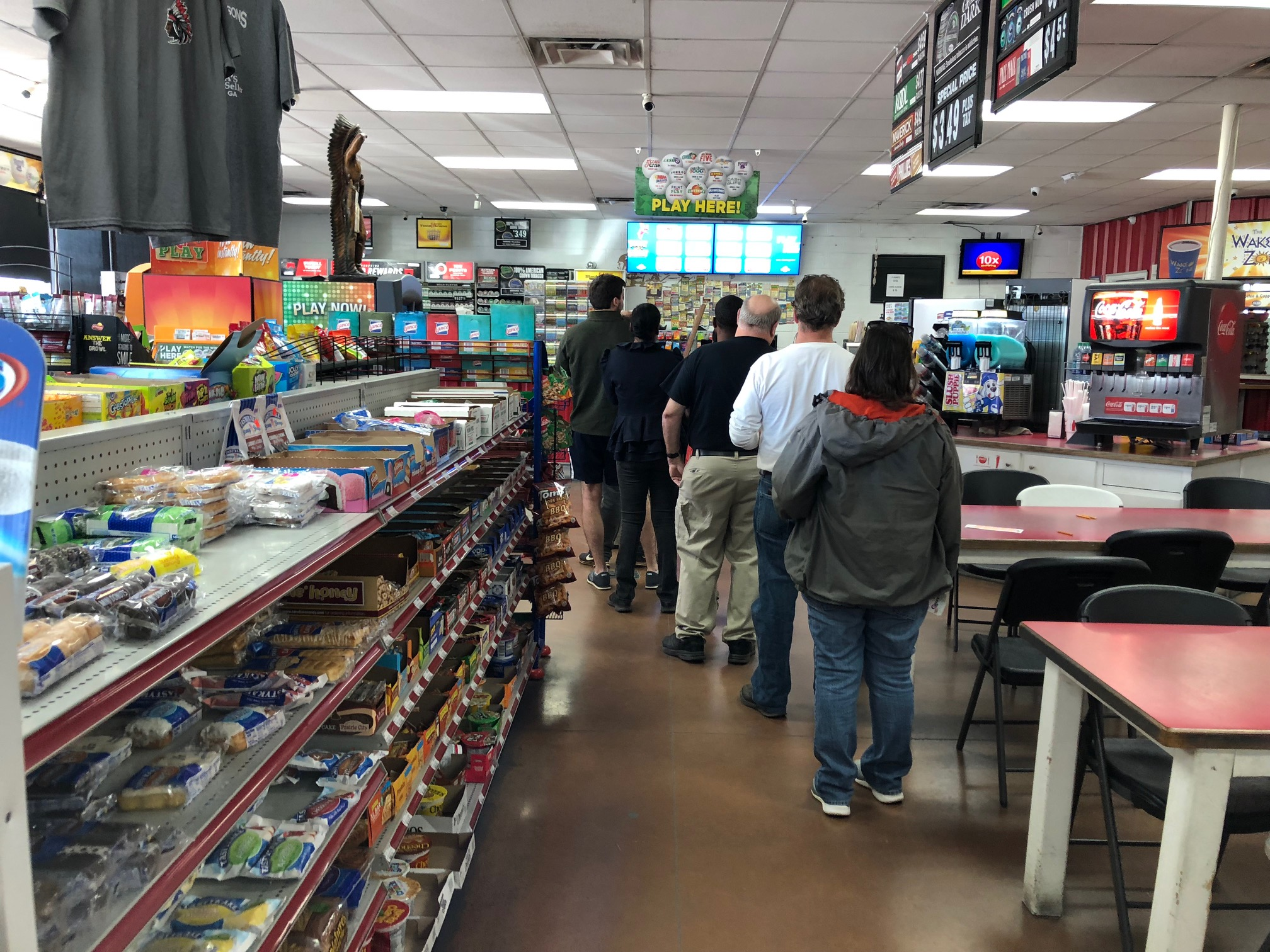 Alabama residents head to Georgia to buy Powerball lottery tickets