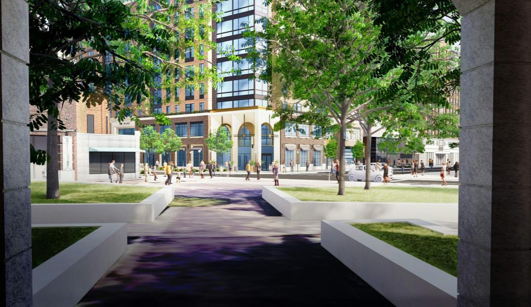 13-story downtown Ann Arbor high-rise moves forward