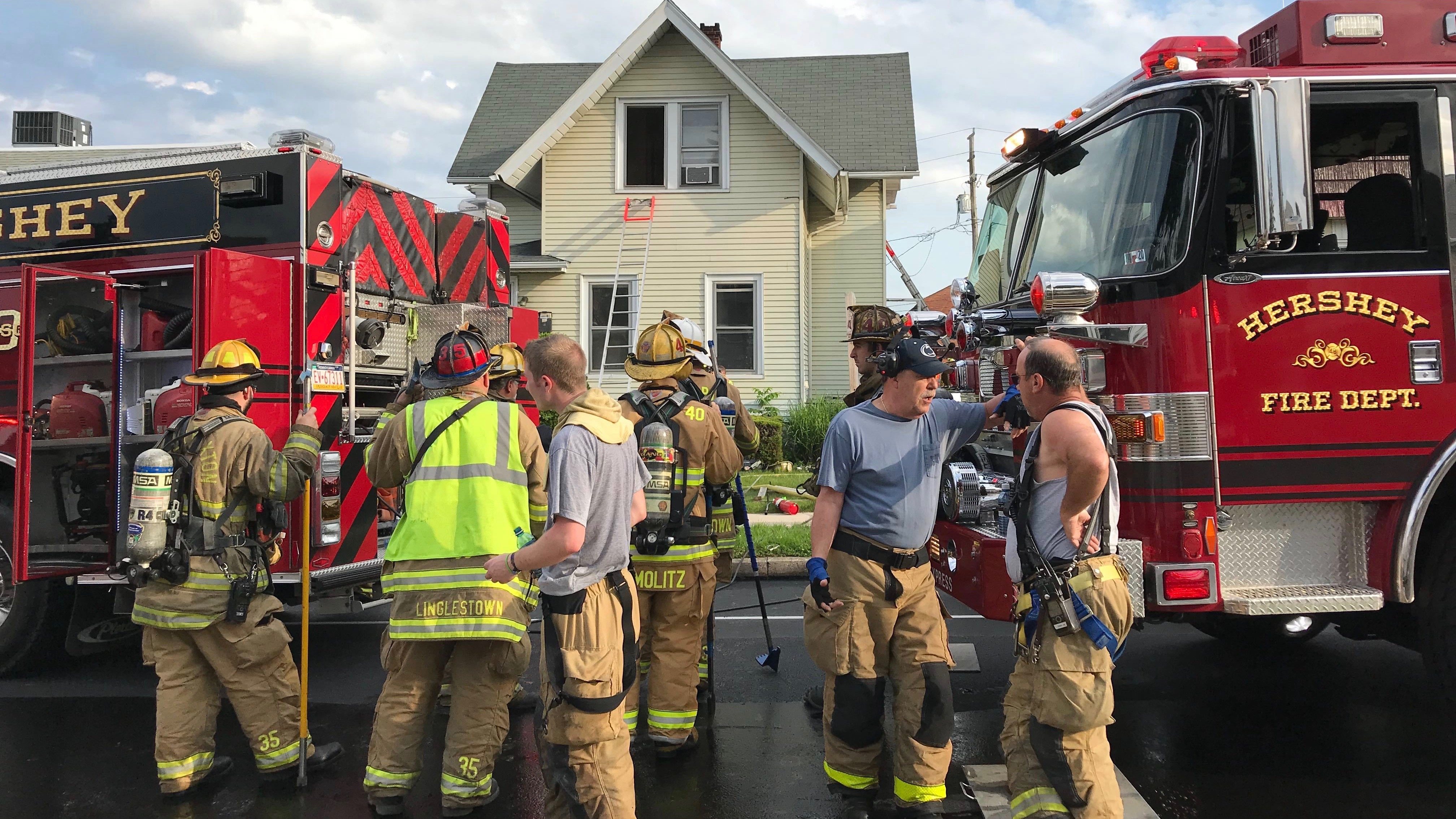 1 dead in Hershey house fire: reports