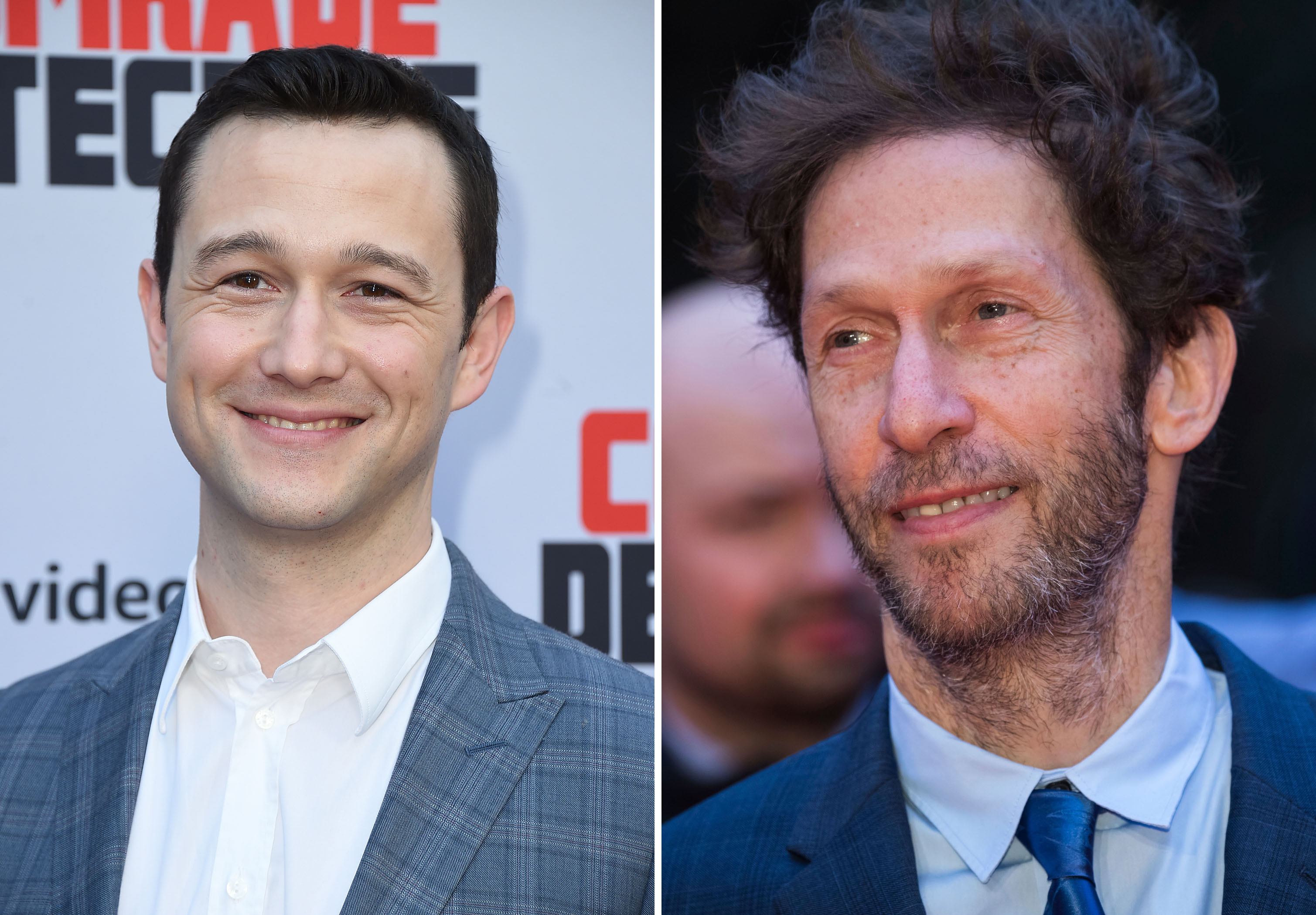 Actors Joseph Gordon-Levitt, left, and Tim Blake Nelson are scheduled to attend separate events at the 2018 New Orleans Film Festival on Saturday (Oct. 20, 2018) (AP photos)